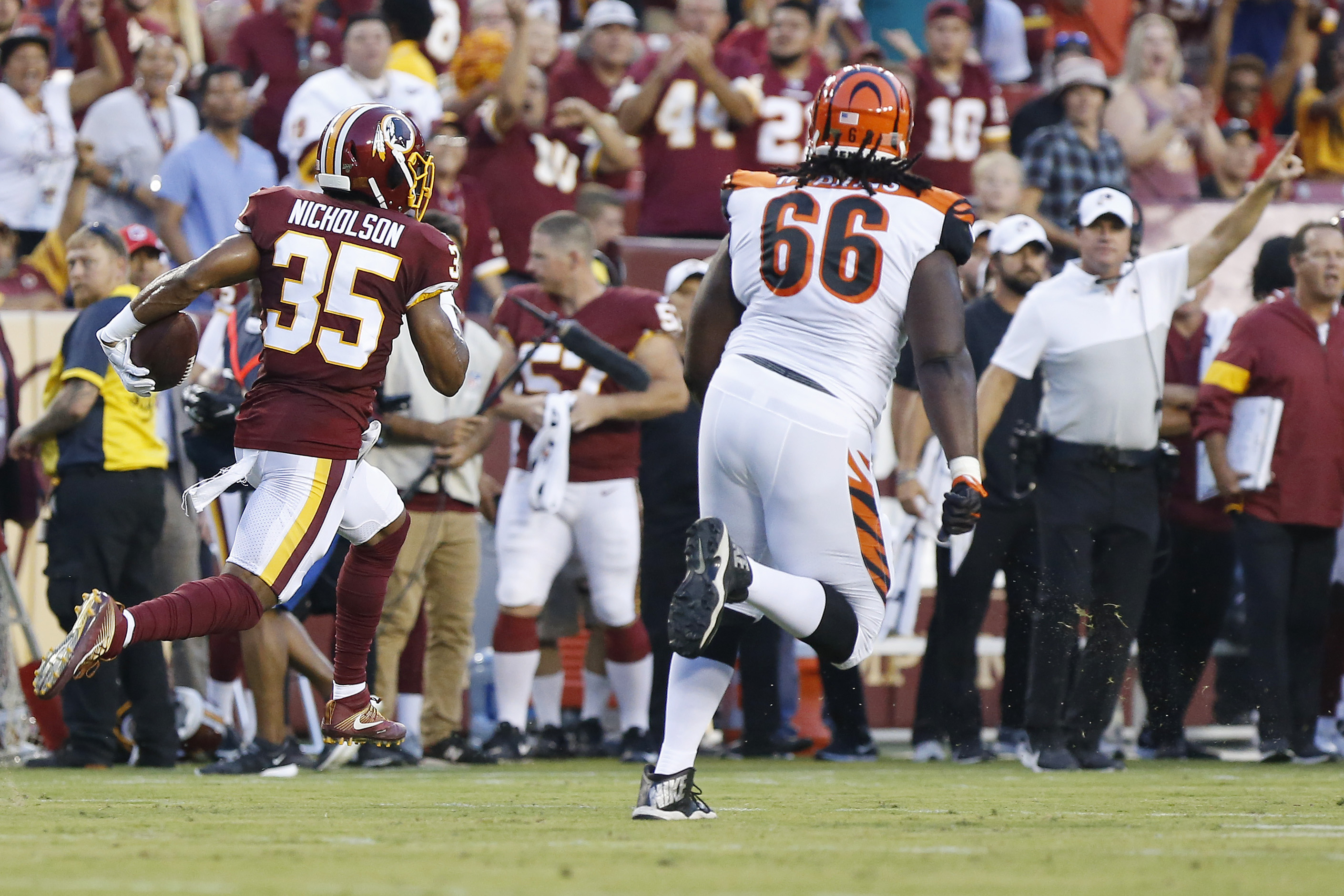NFL: Preseason-Cincinnati Bengals at Washington Redskins