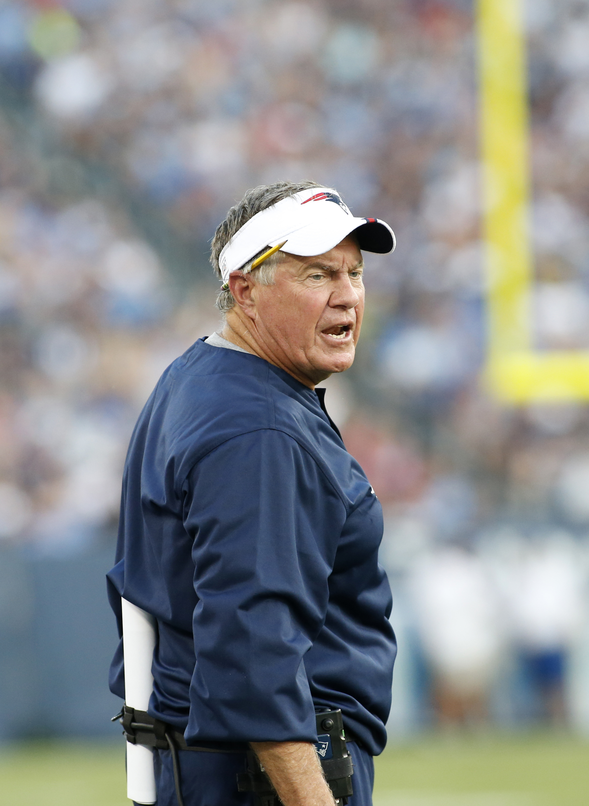 NFL: AUG 17 Preseason - Patriots at Titans
