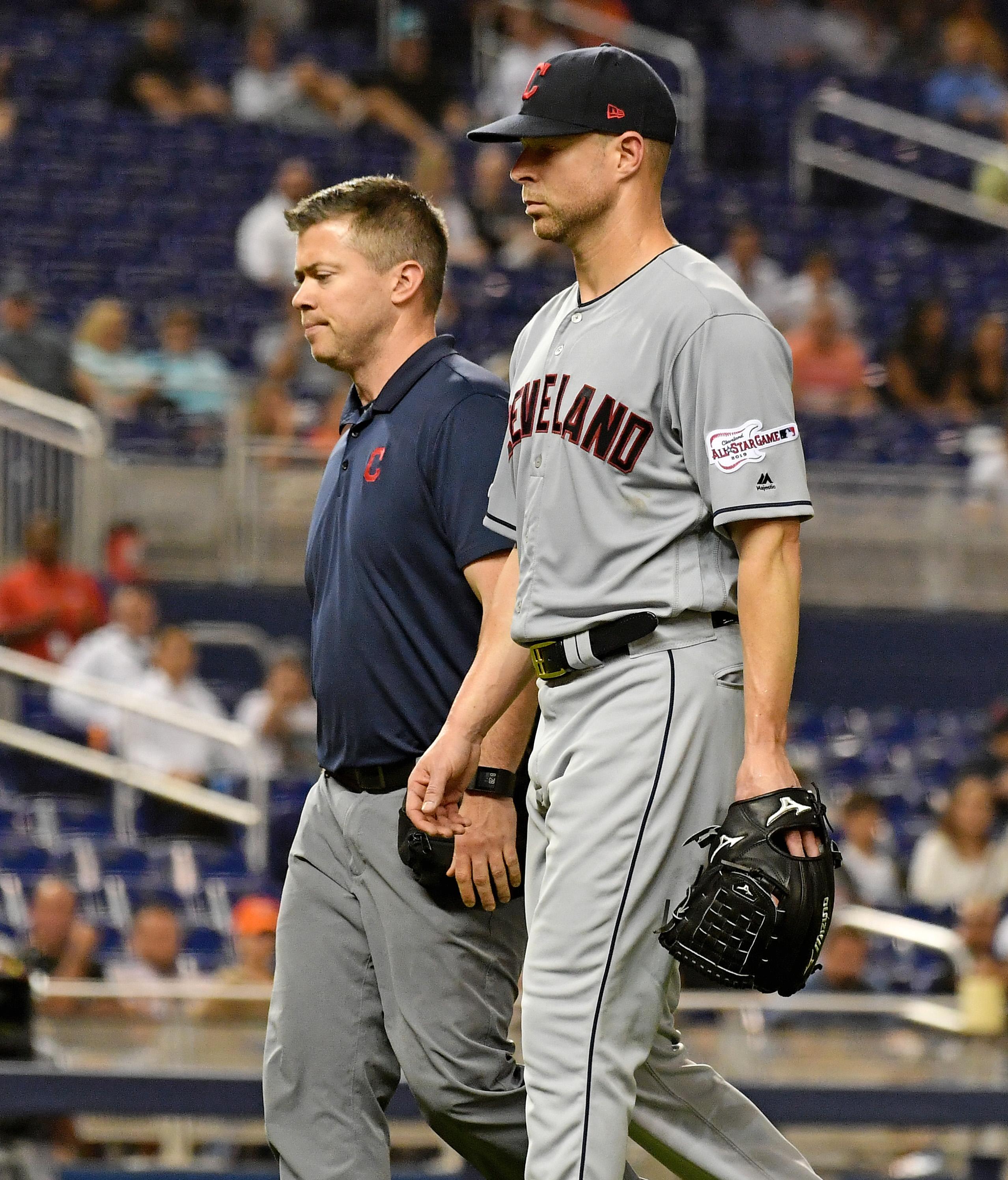 MLB: Cleveland Indians at Miami Marlins