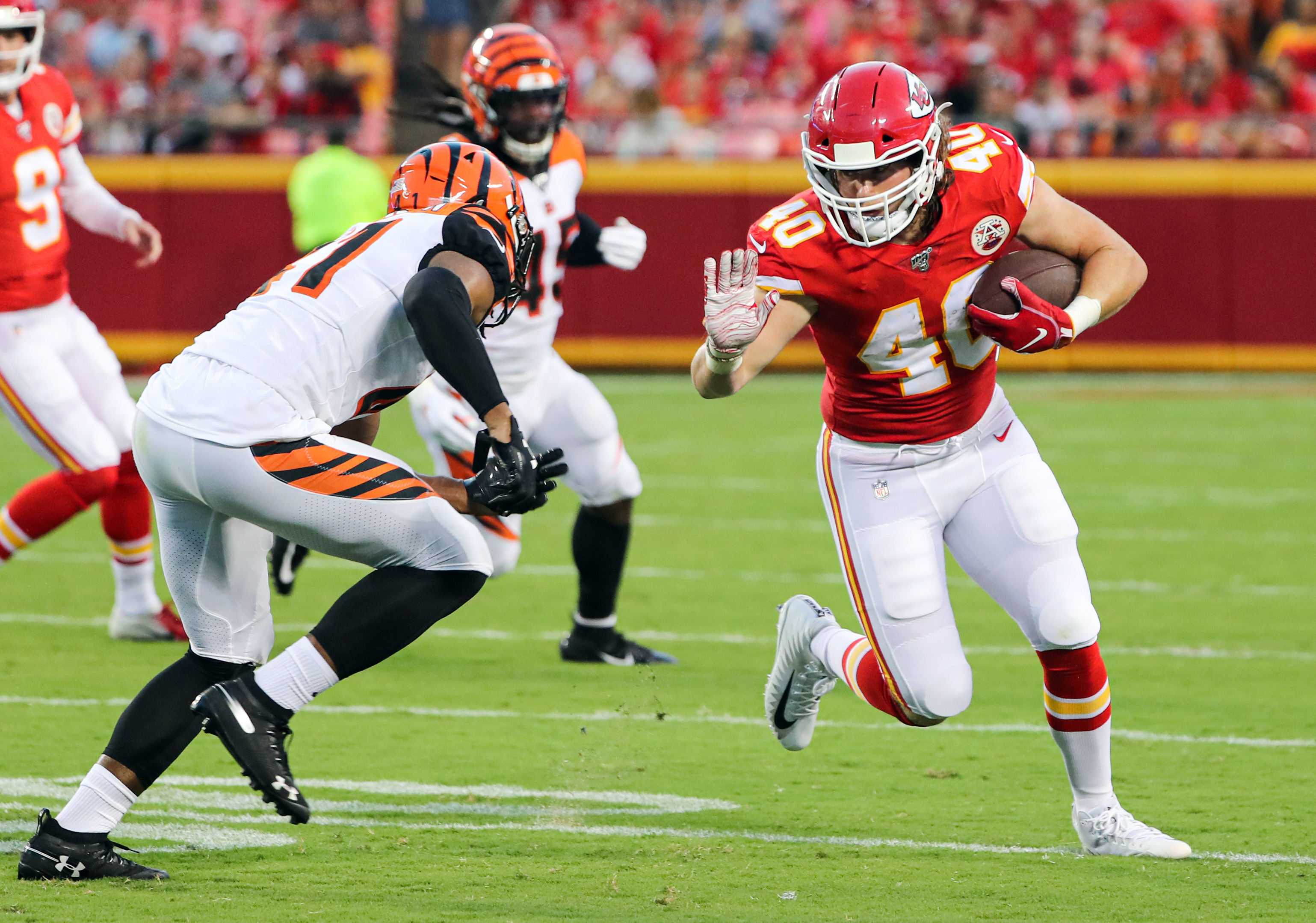 NFL: Preseason-Cincinnati Bengals at Kansas City Chiefs