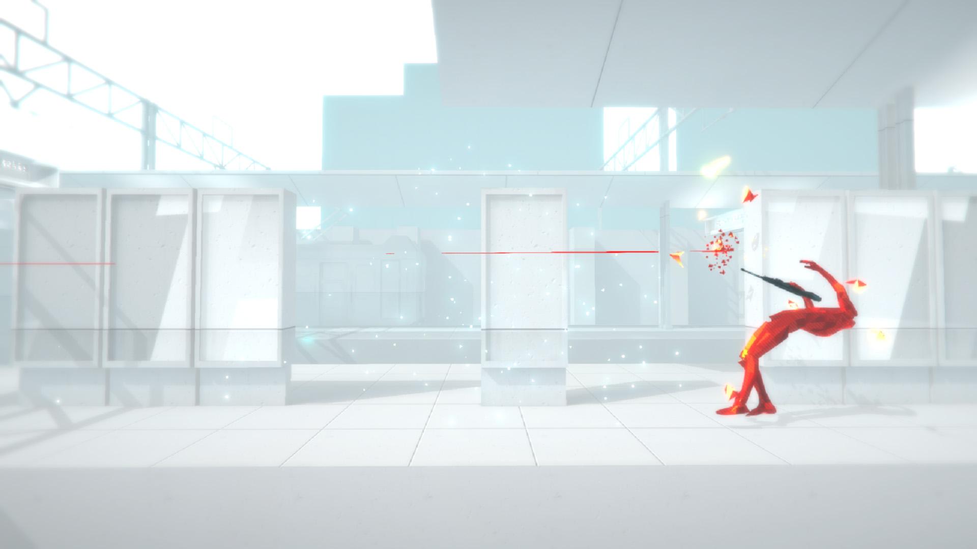 Superhot review screen