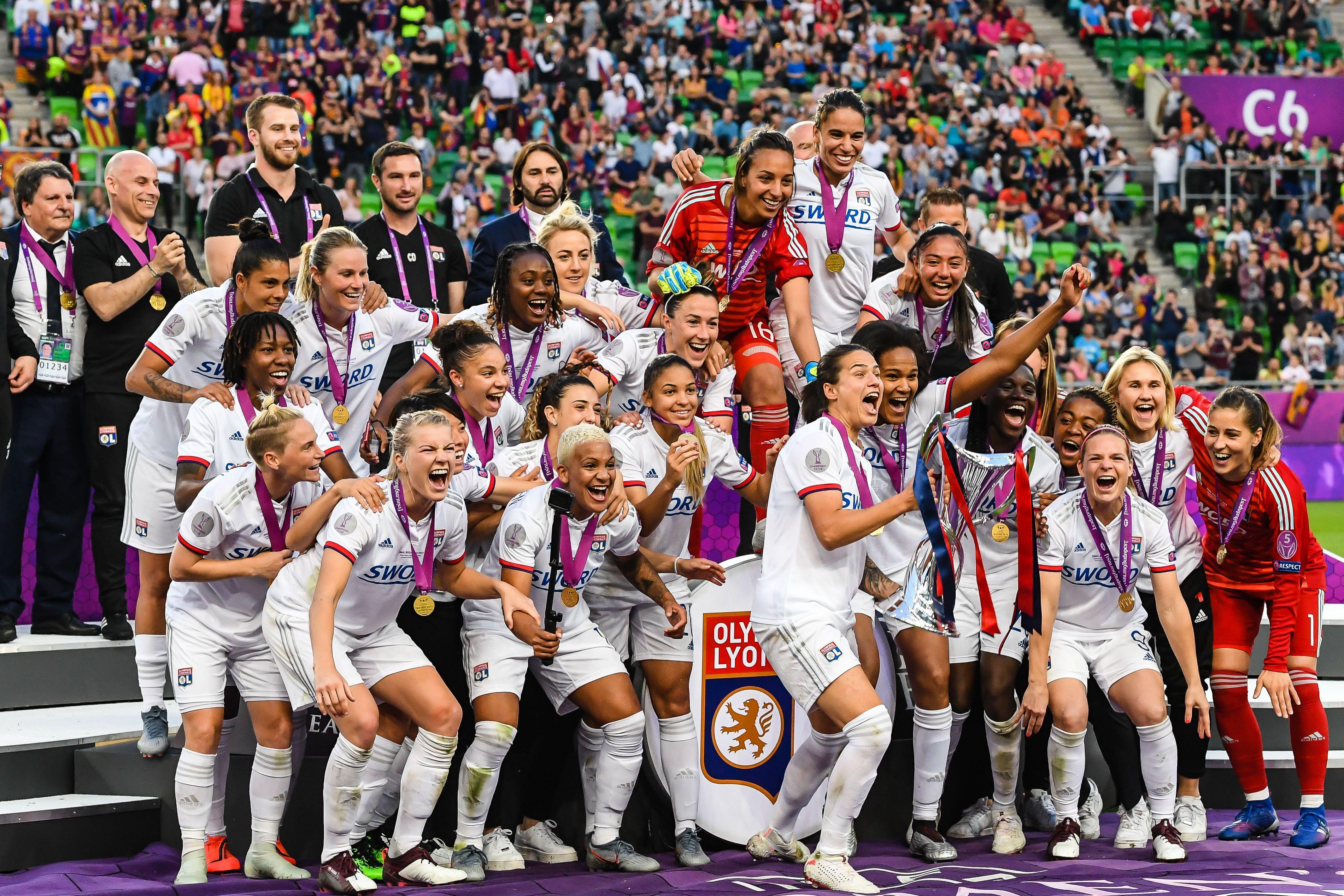 "UEFA Women's Champions League""Women: Olympique Lyonnais v FC Barcelona"""