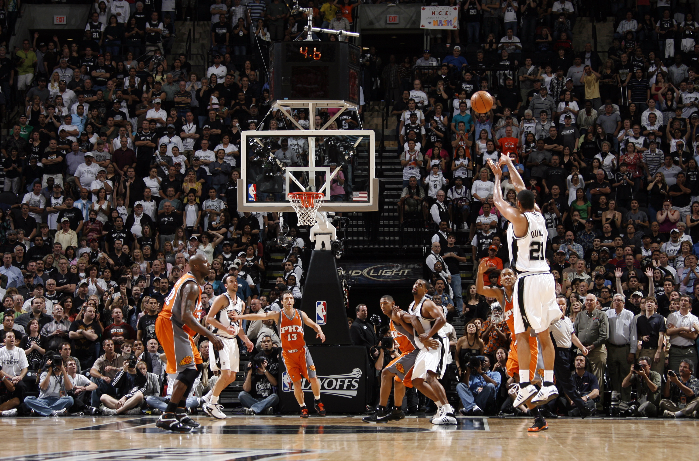 Phoenix Suns v San Antonio Spurs, Game 1