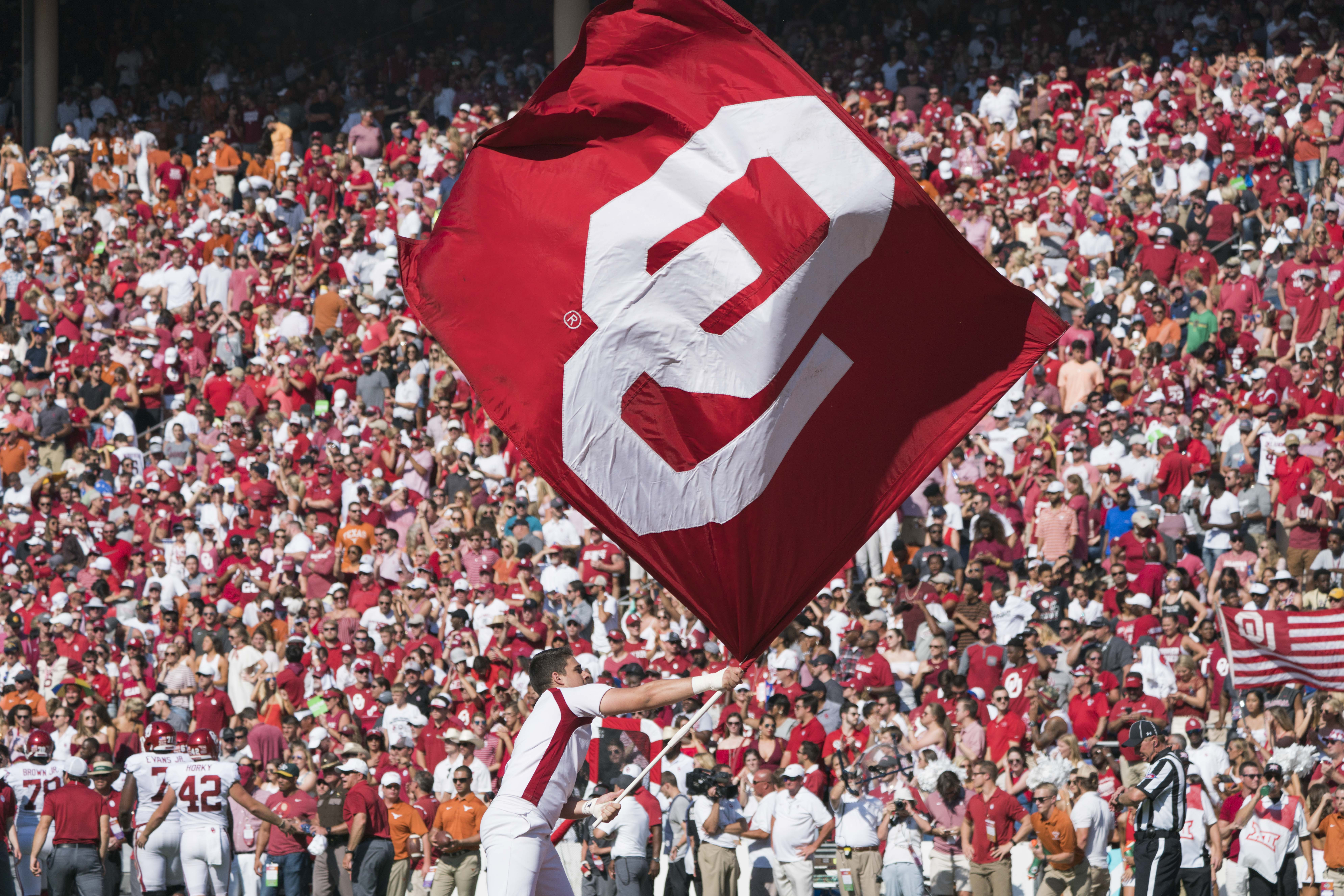 COLLEGE FOOTBALL: OCT 14 Oklahoma v Texas
