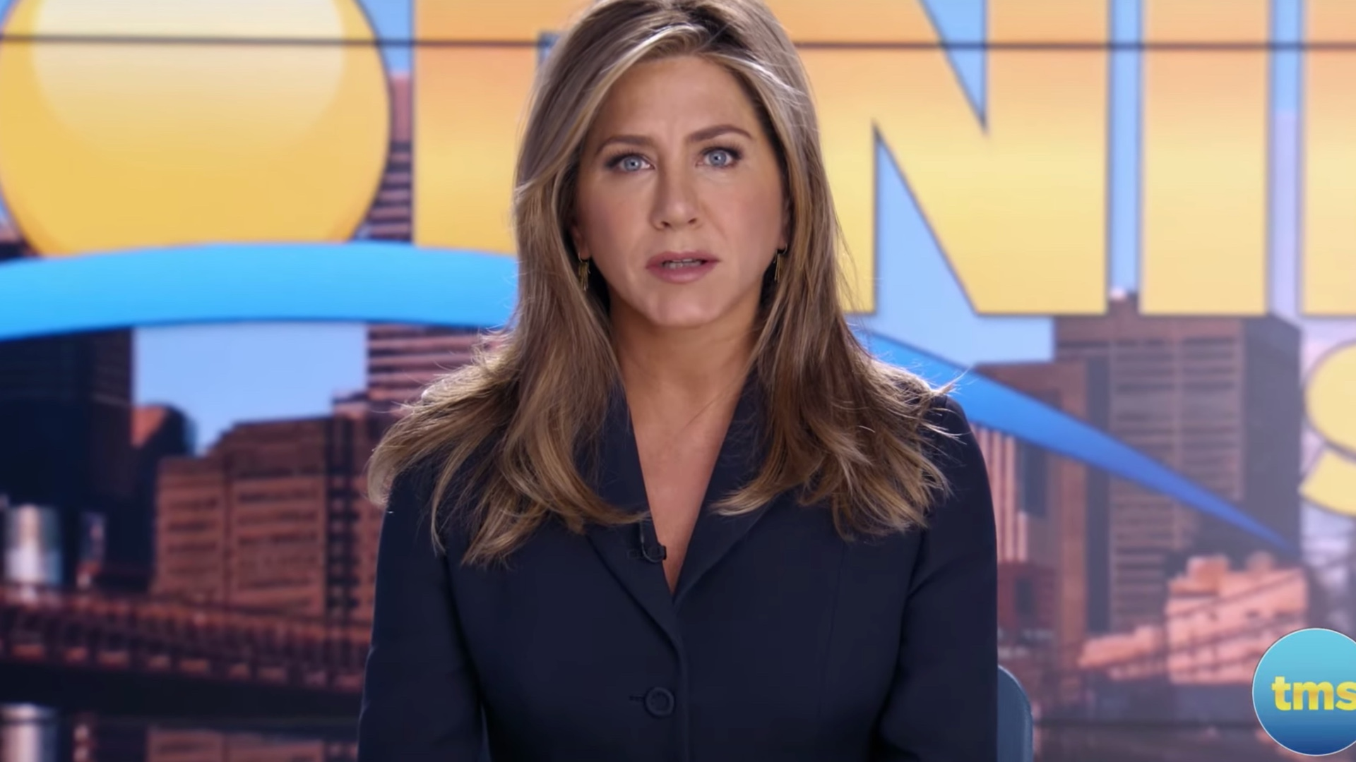 Jennifer Aniston stars in the hot seat in The Morning Show for Apple TV+.