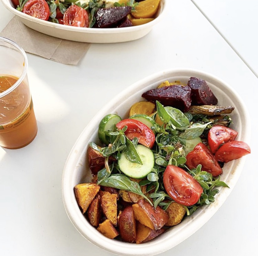 Salad at Fava in Berkeley