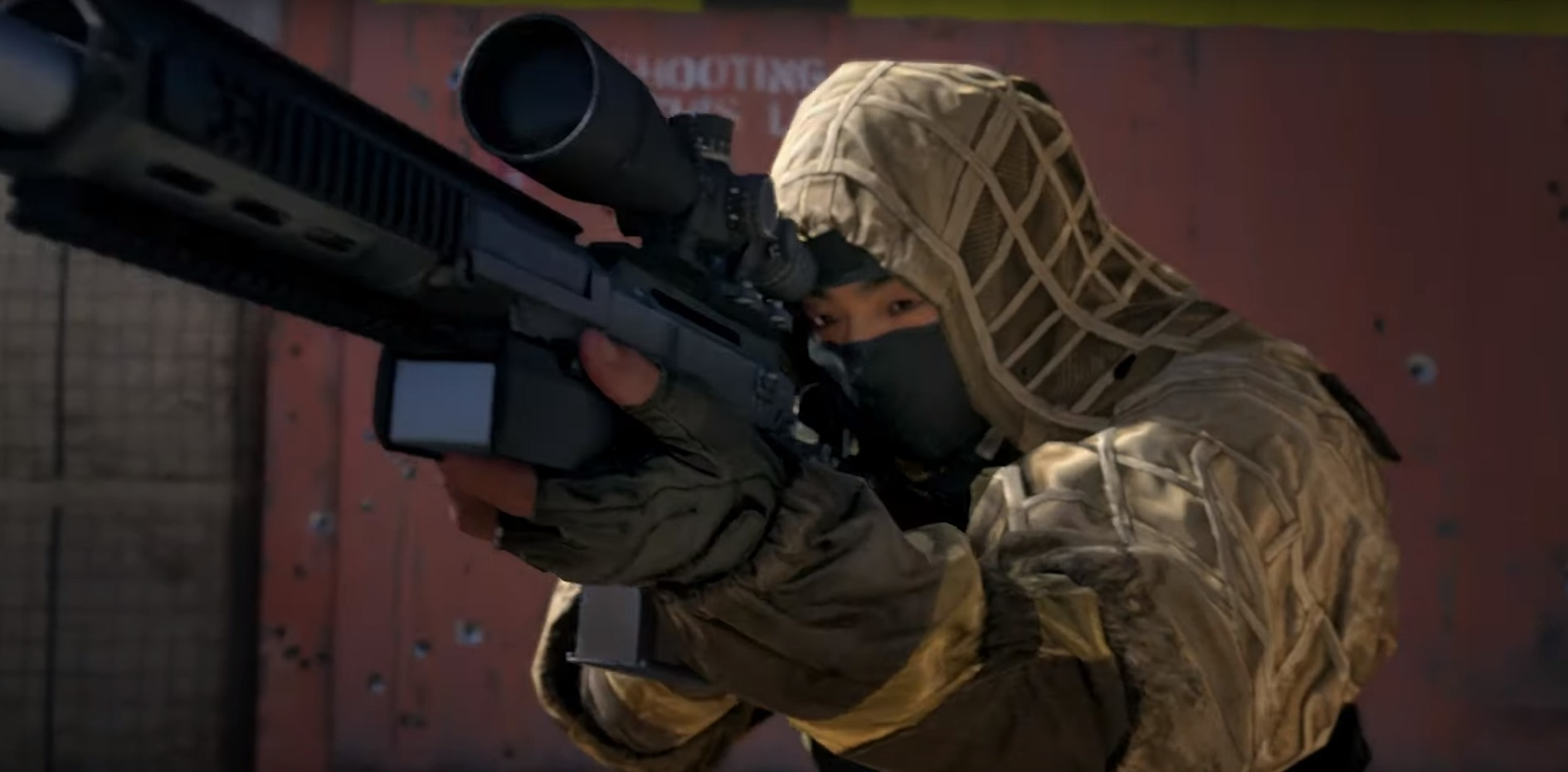 A player aims a sniper rifle in Call of Duty Modern Warfare 2019
