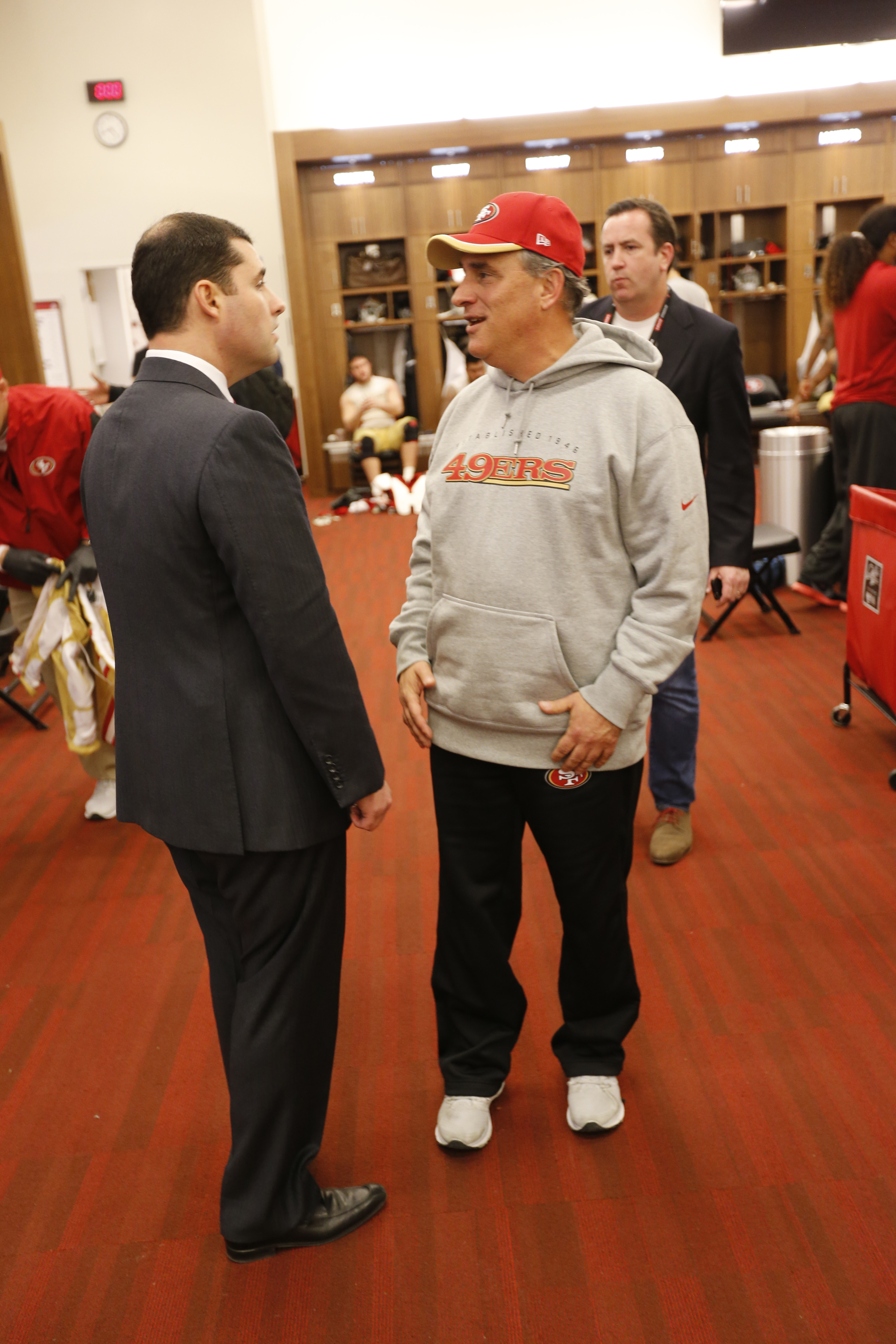 Vic Fangio and Jed York
