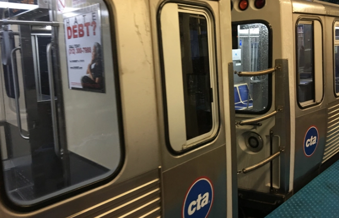 Authorities responded to a person struck by Green Line train at Central Avenue on Aug 19, 2019.