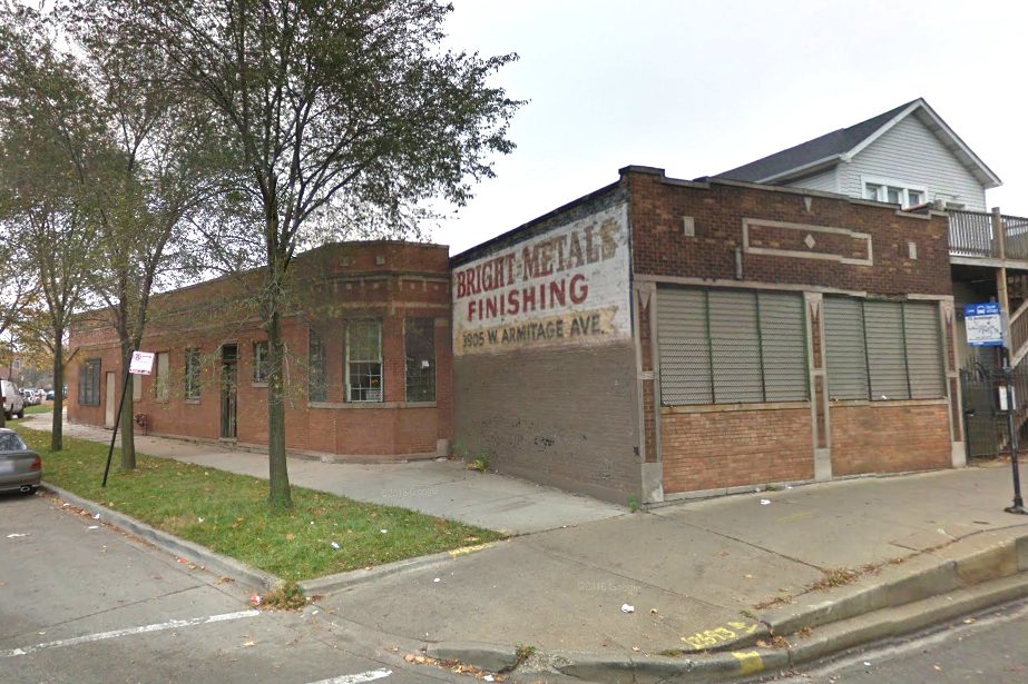 Fire crews responded to a fire at the Bright Metals Finishing building at 3905 W. Armitage Ave.