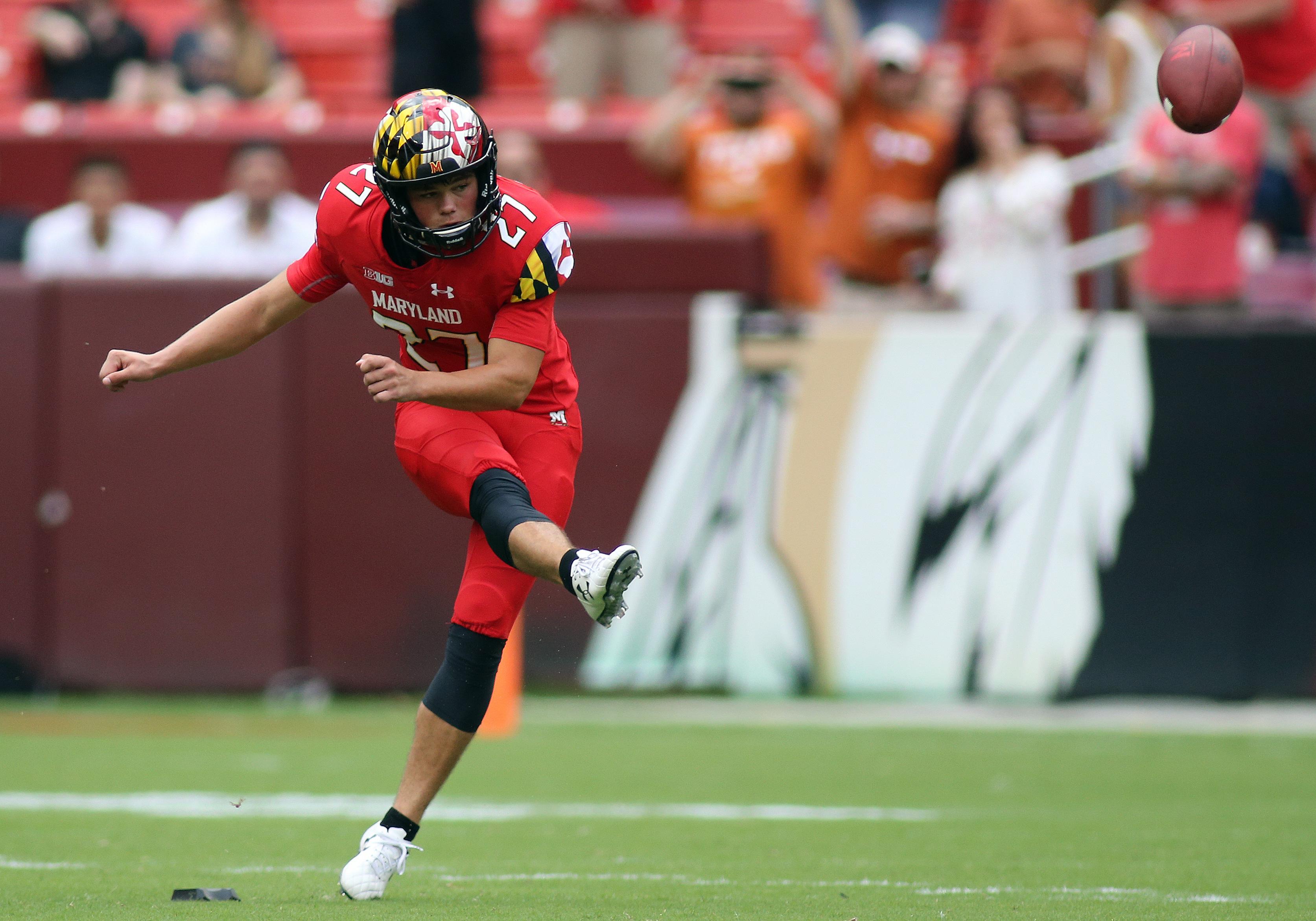 COLLEGE FOOTBALL: SEP 01 Texas v Maryland