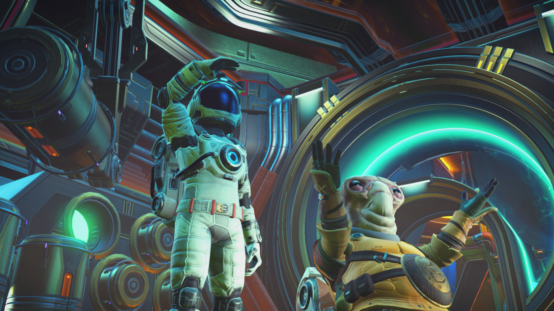 No Man's Sky Beyond scrapes away the grind, finds the fun