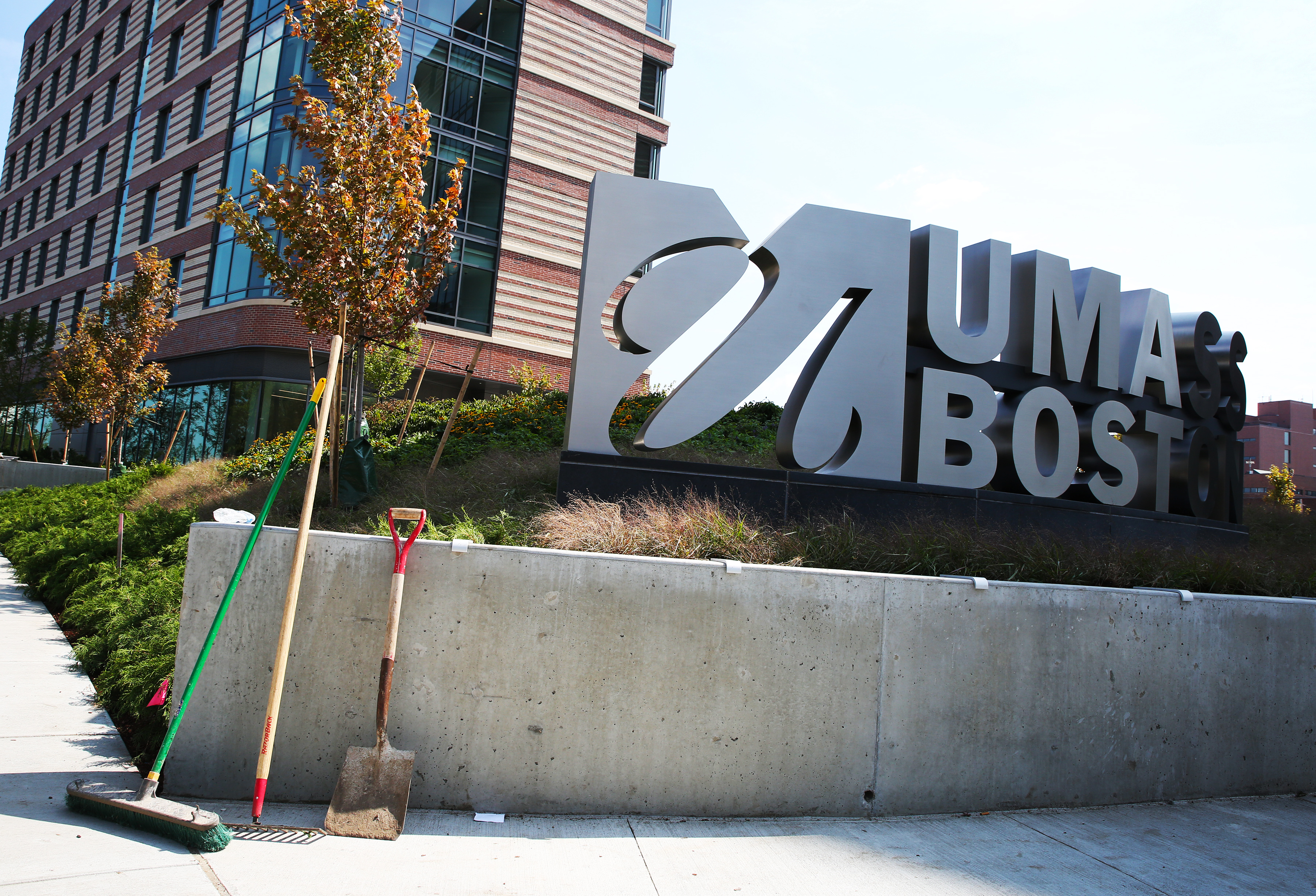 A new dormitory for UMass-Boston in Columbia Point.