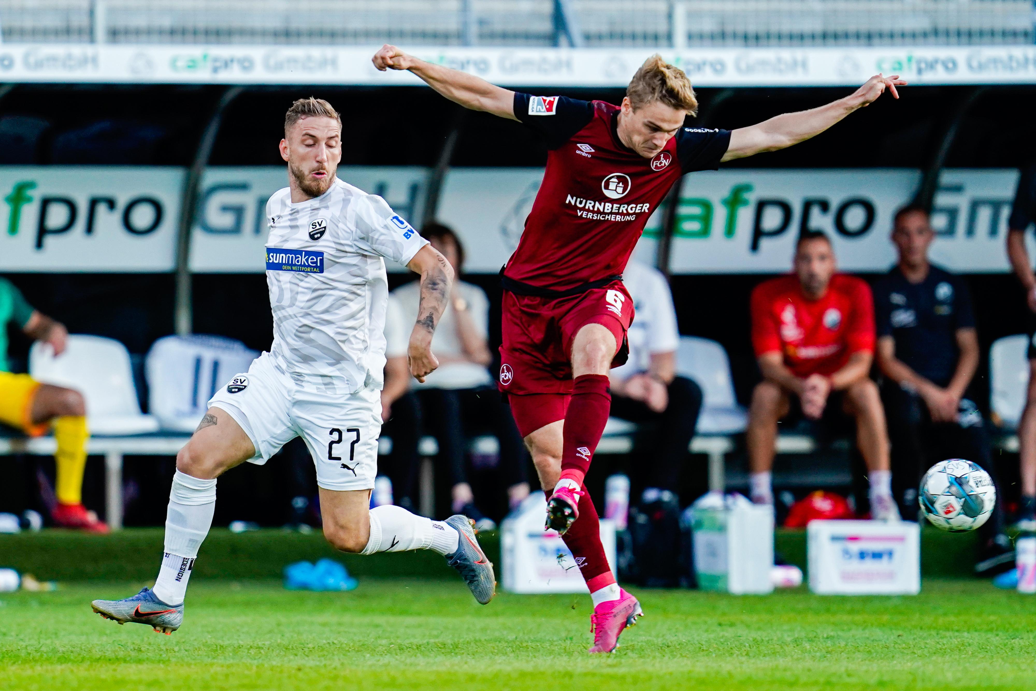 SV Sandhausen - 1st FC Nuremberg