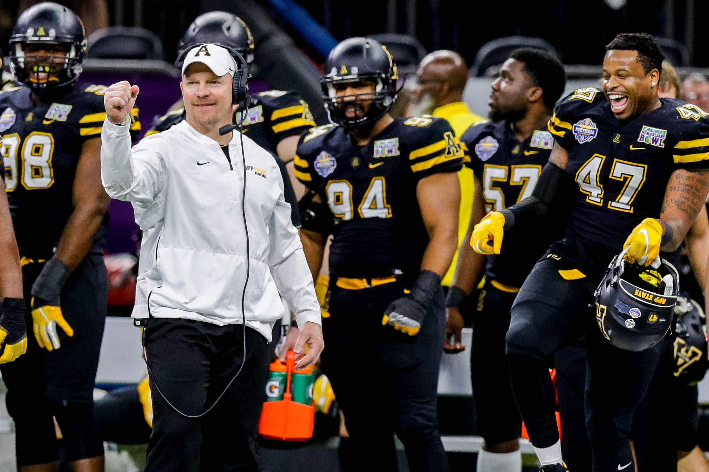 NCAA Football: New Orleans Bowl-Middle Tennessee at Appalachian State