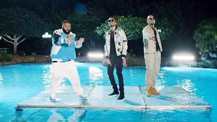 DJ Khaled, August Alsina, and Chris Brown