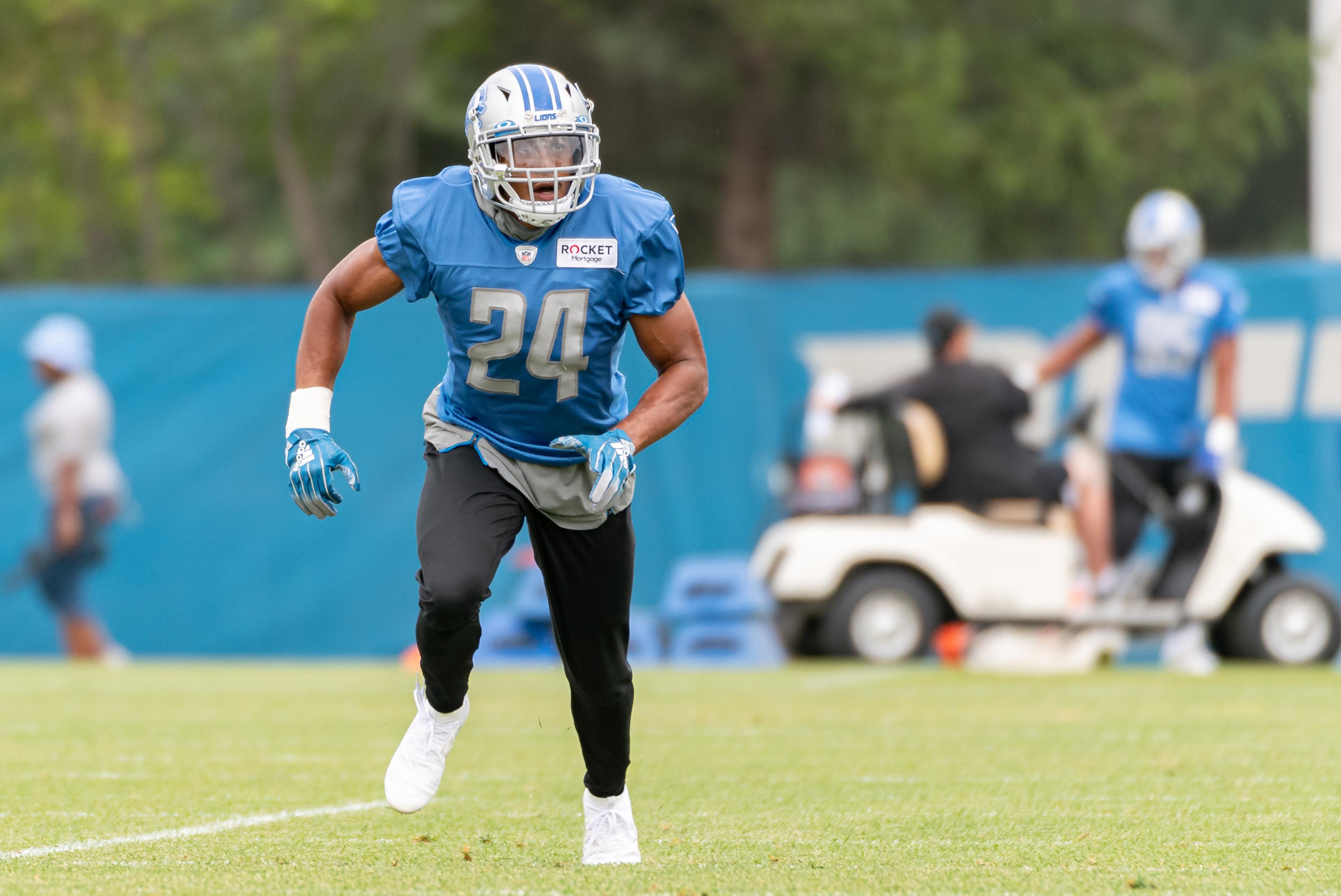 NFL: AUG 13 Detroit Lions Training Camp