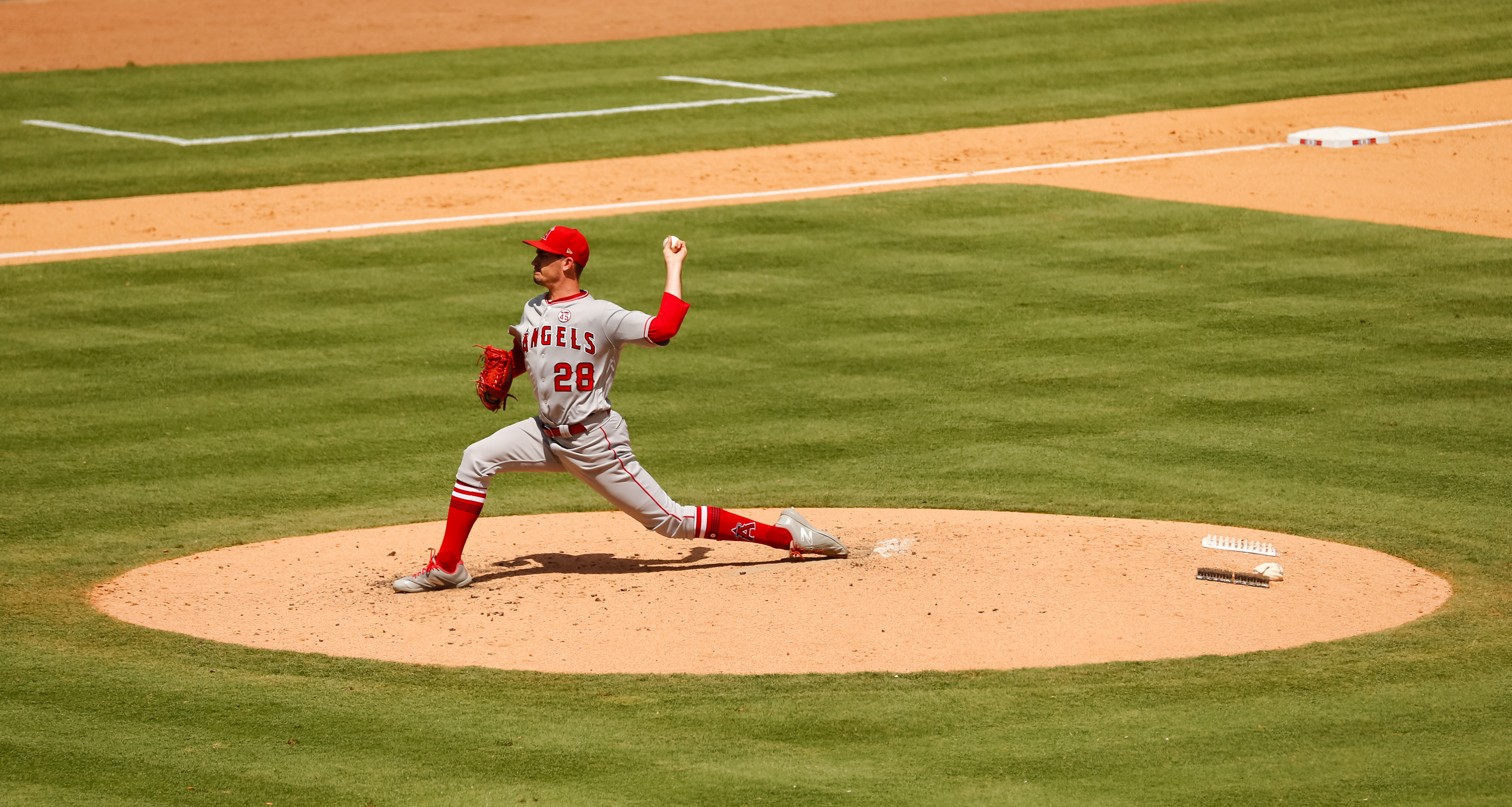 MLB: Game One-Los Angeles Angels at Texas Rangers