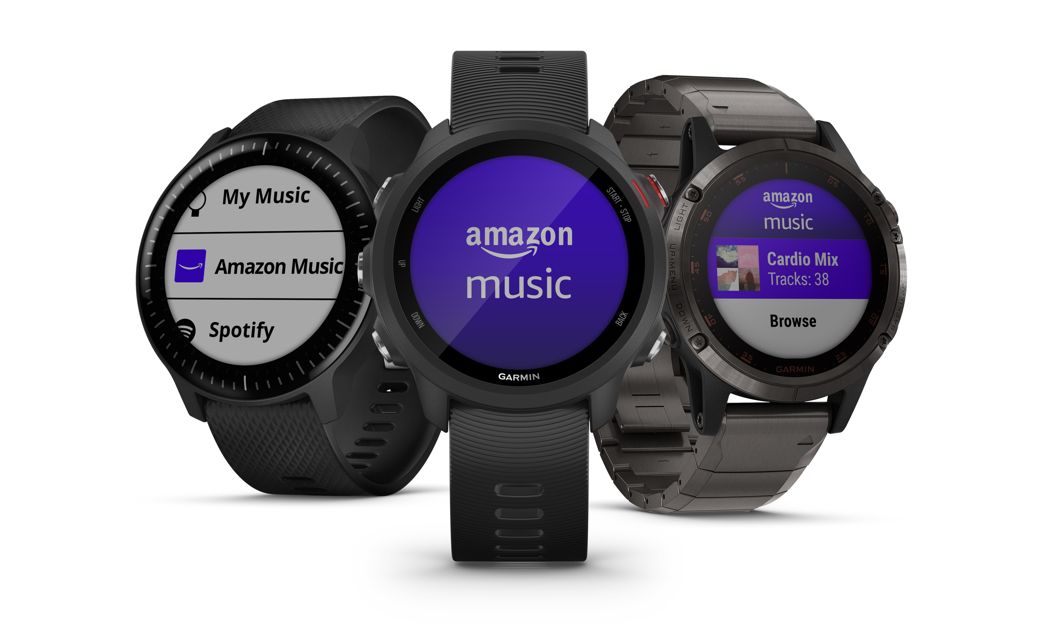 Amazon Music gets its first smartwatch app