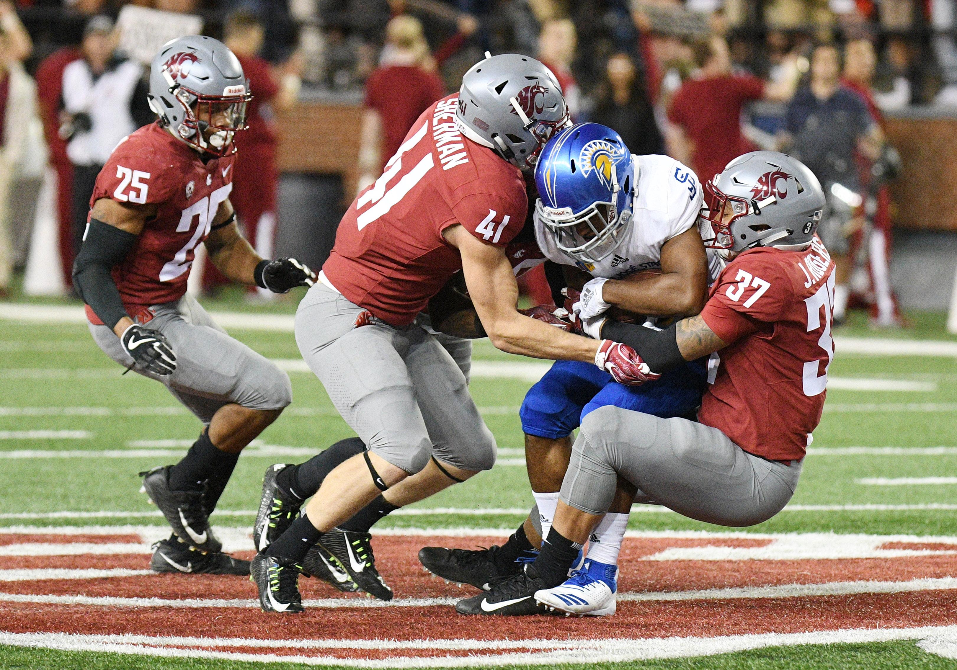 COLLEGE FOOTBALL: SEP 08 San Jose State at Washington State