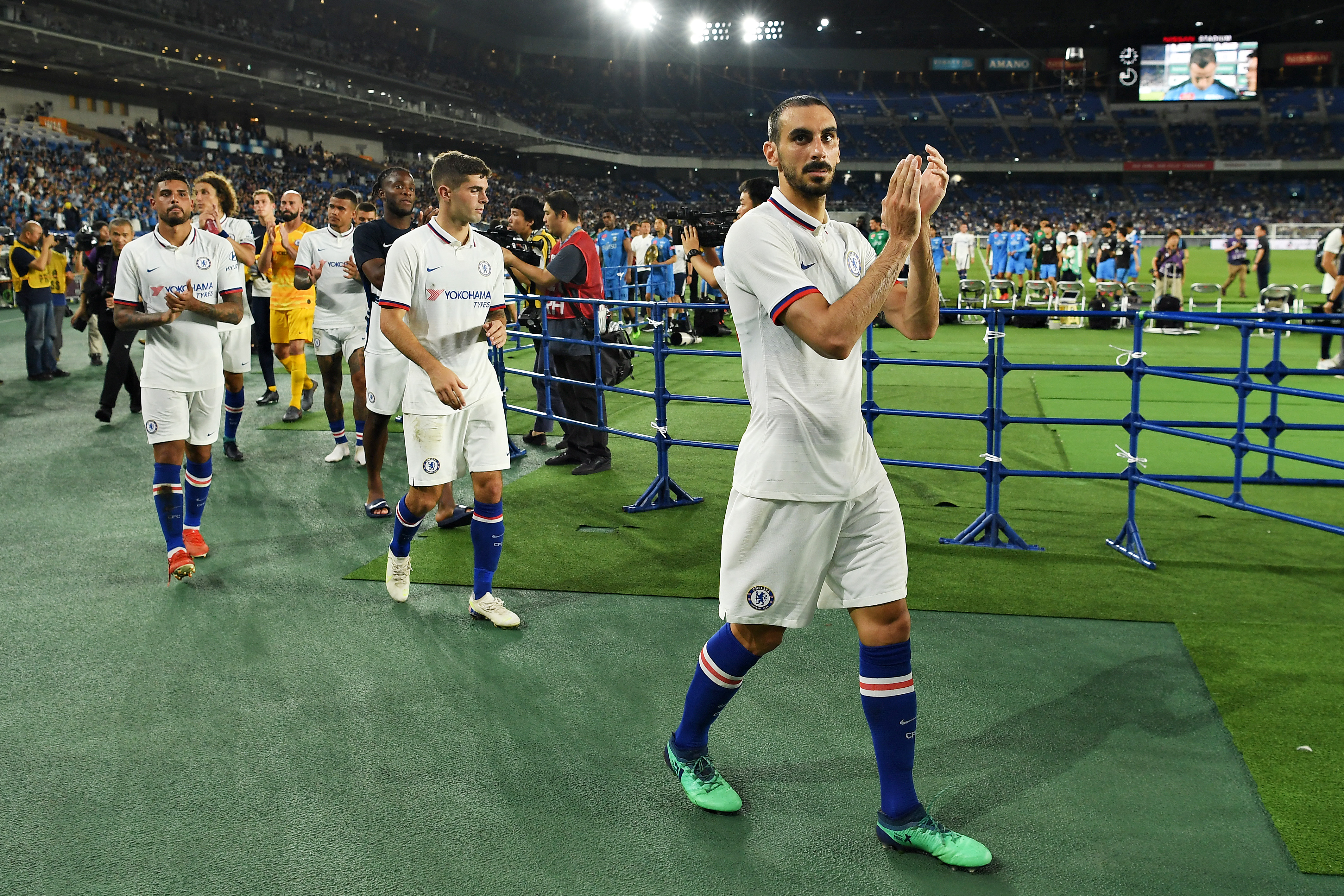 Official: Davide Zappacosta joins AS Roma on loan from Chelsea