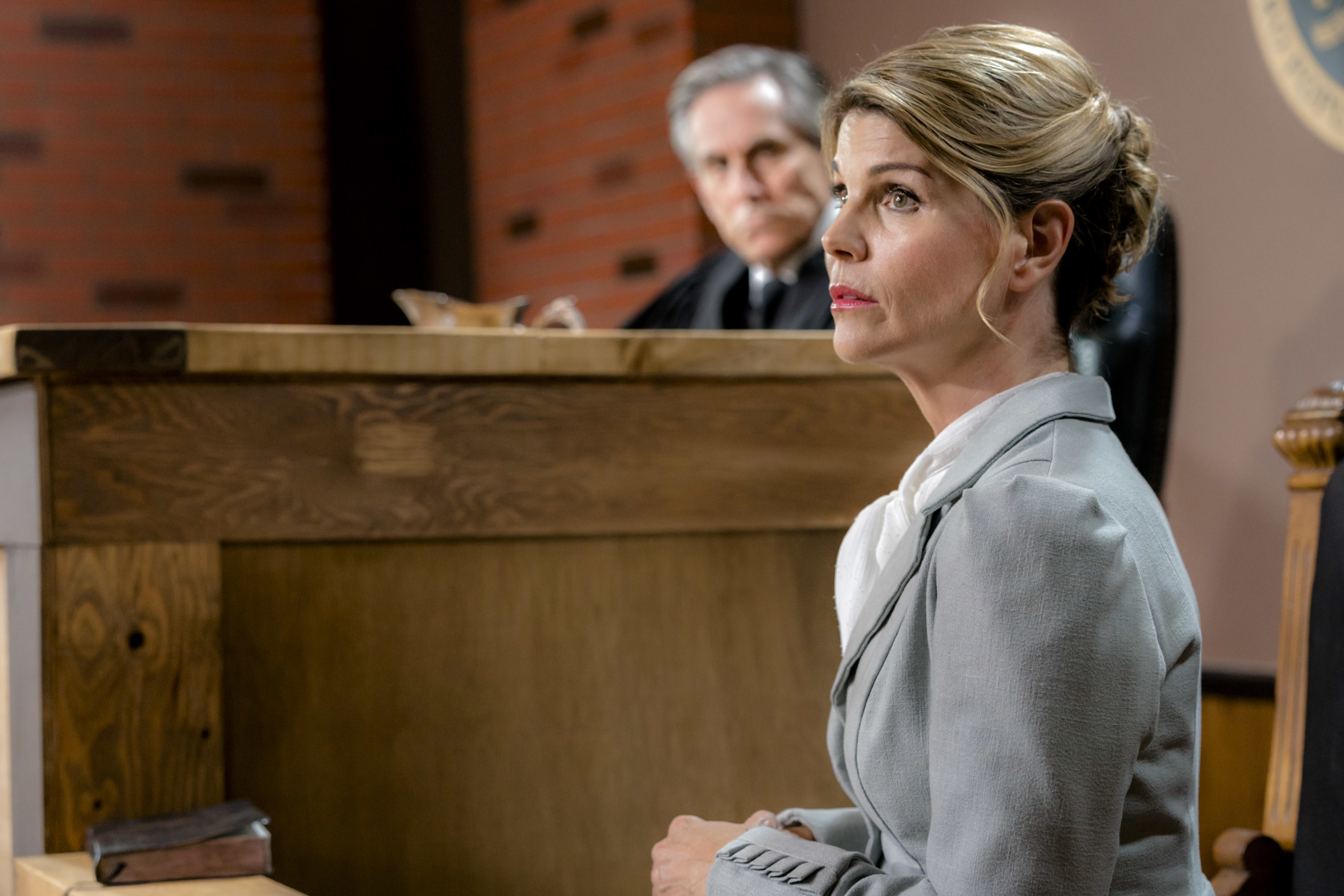 "Lori Loughlin, right, stars as Abigail Stanton in the Hallmark series ""When Calls the Heart."" Season five of the show premieres Feb. 18."