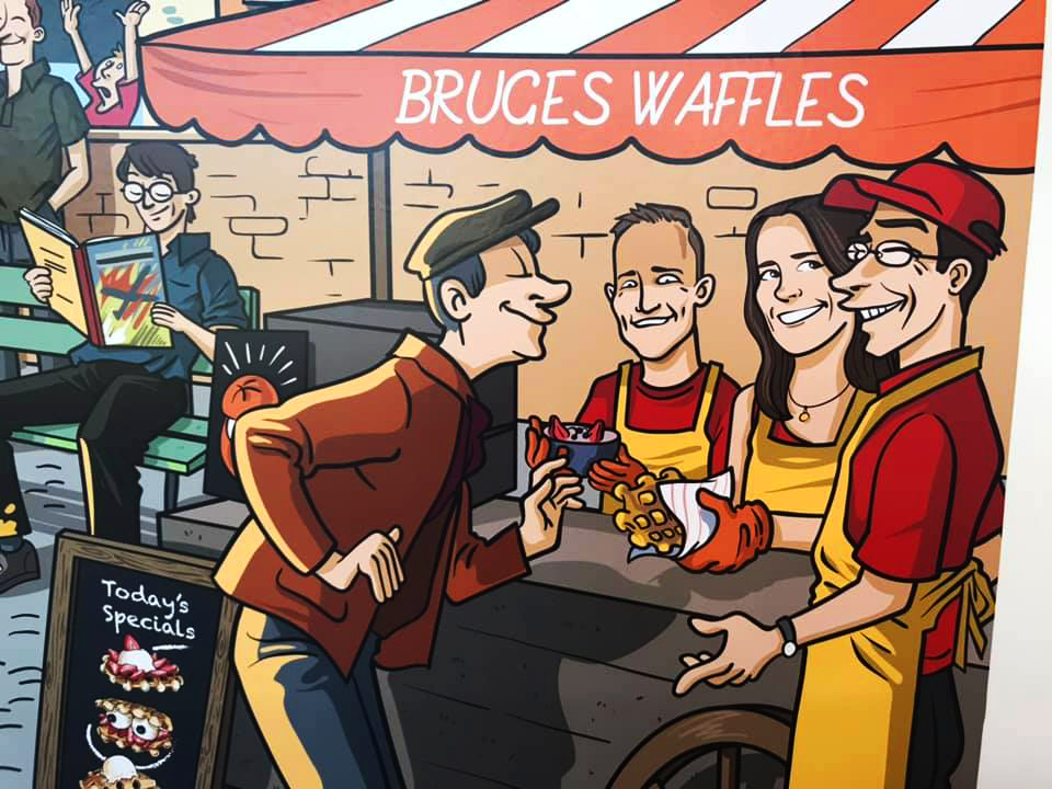 Cones of Fries and Sweet and Savory Waffles Arrive Soon