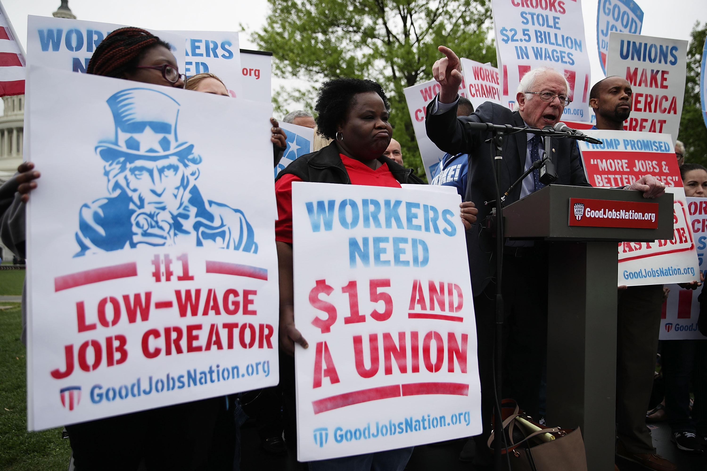 Bernie Sanders's ambitious plan to double union membership, explained
