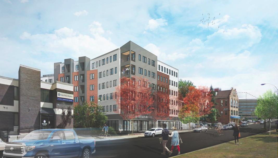 Brighton condos to replace building at 50 Leo Birmingham Parkway