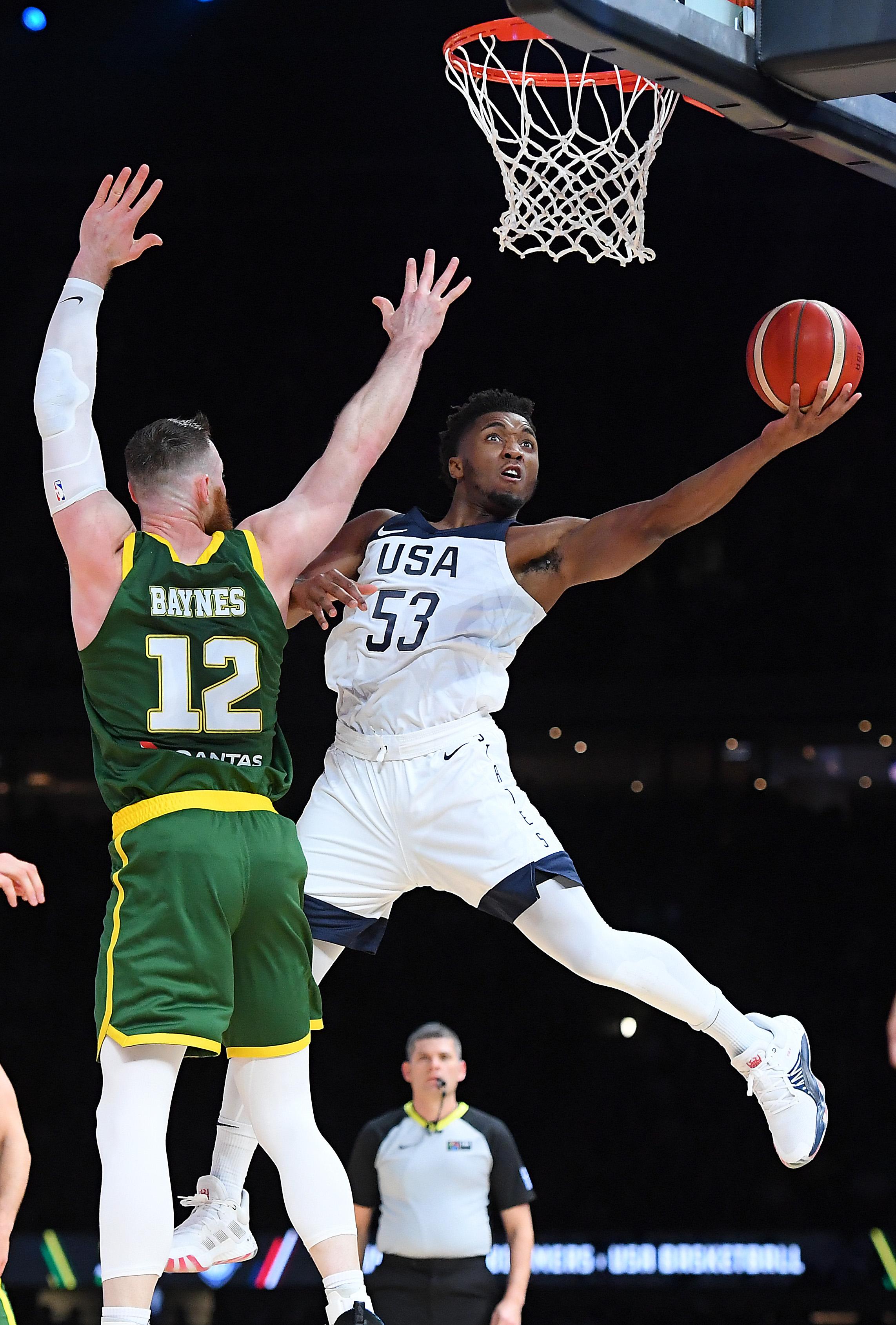 Australia v Team USA: Game 1