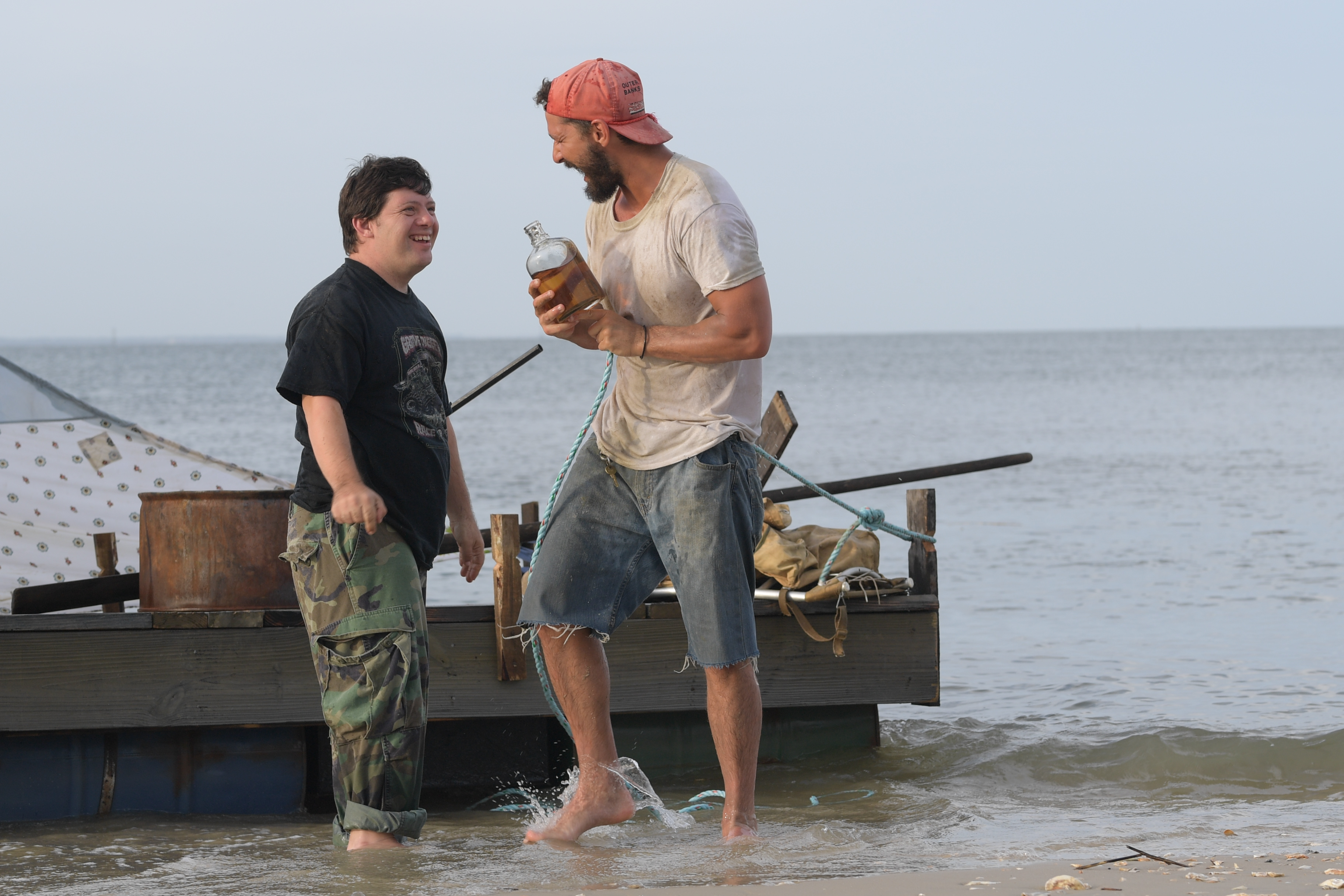 """Zack Gottsagen and Shia LaBeouf embark on a life-changing journey in """"The Peanut Butter Falcon."""""""