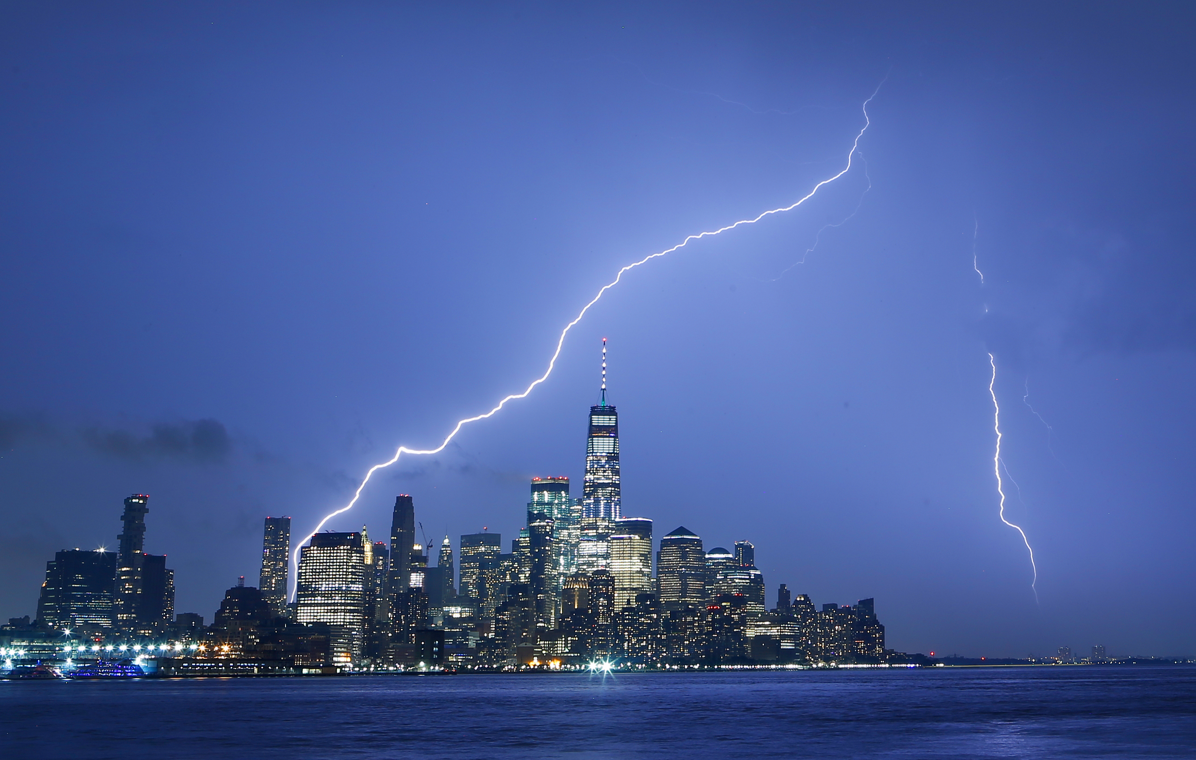 Lightning Strikes in New York City