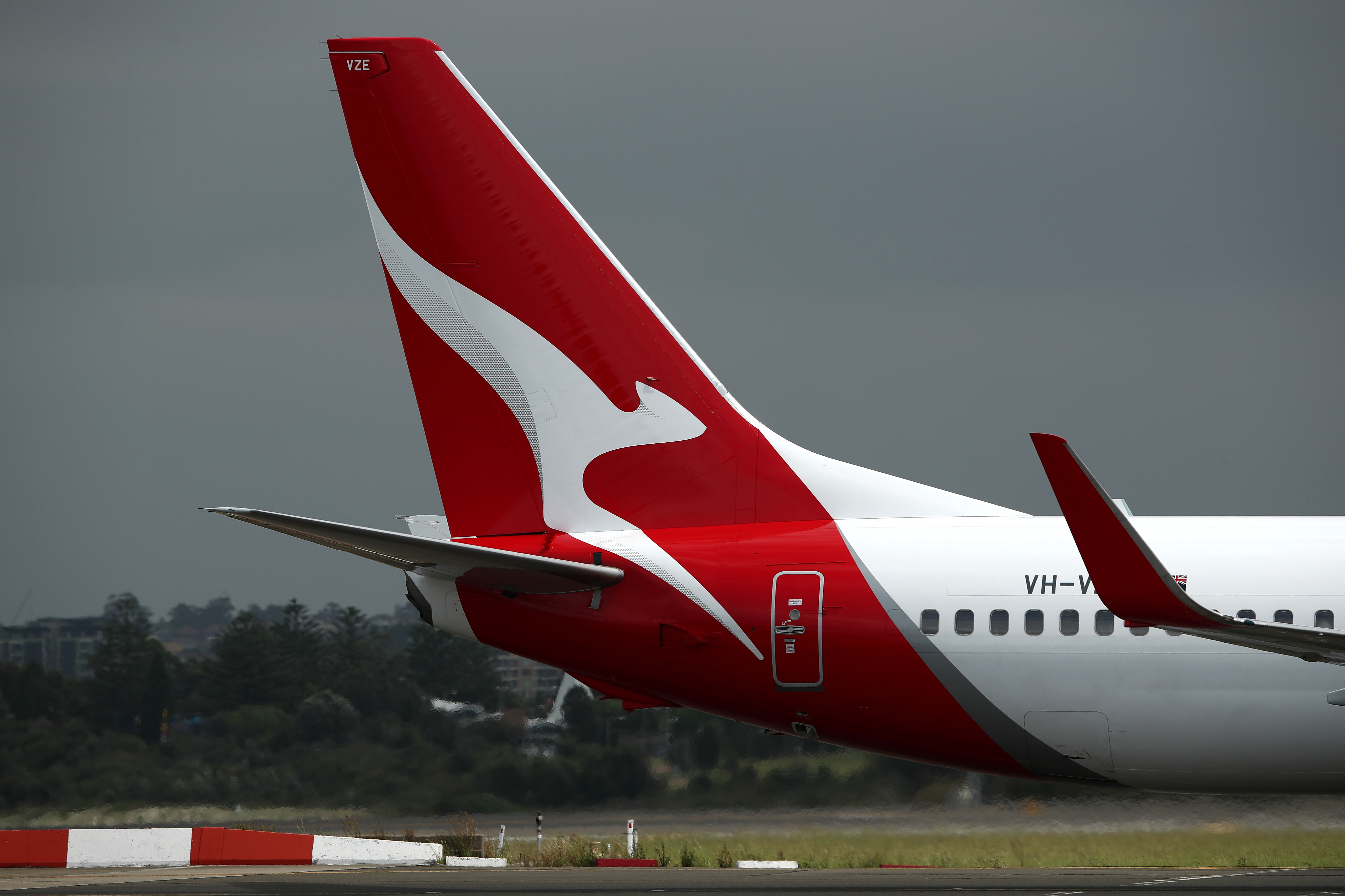 Planes Fly At Sydney Airport As Boeing 737 MAX 8 Operations Are Suspended In Australia