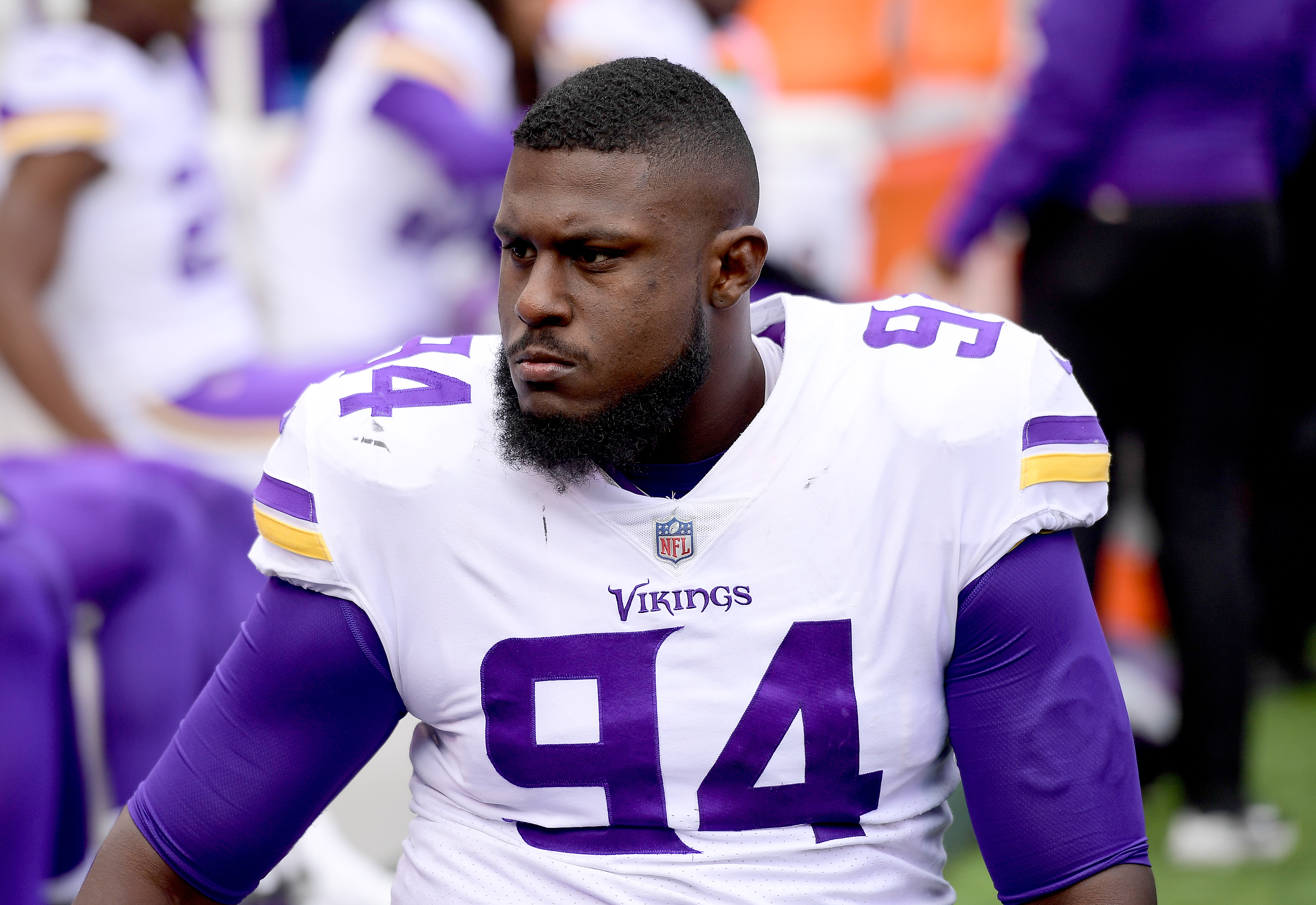 Jaleel Johnson almost looks like another Linval Joseph for the Vikings
