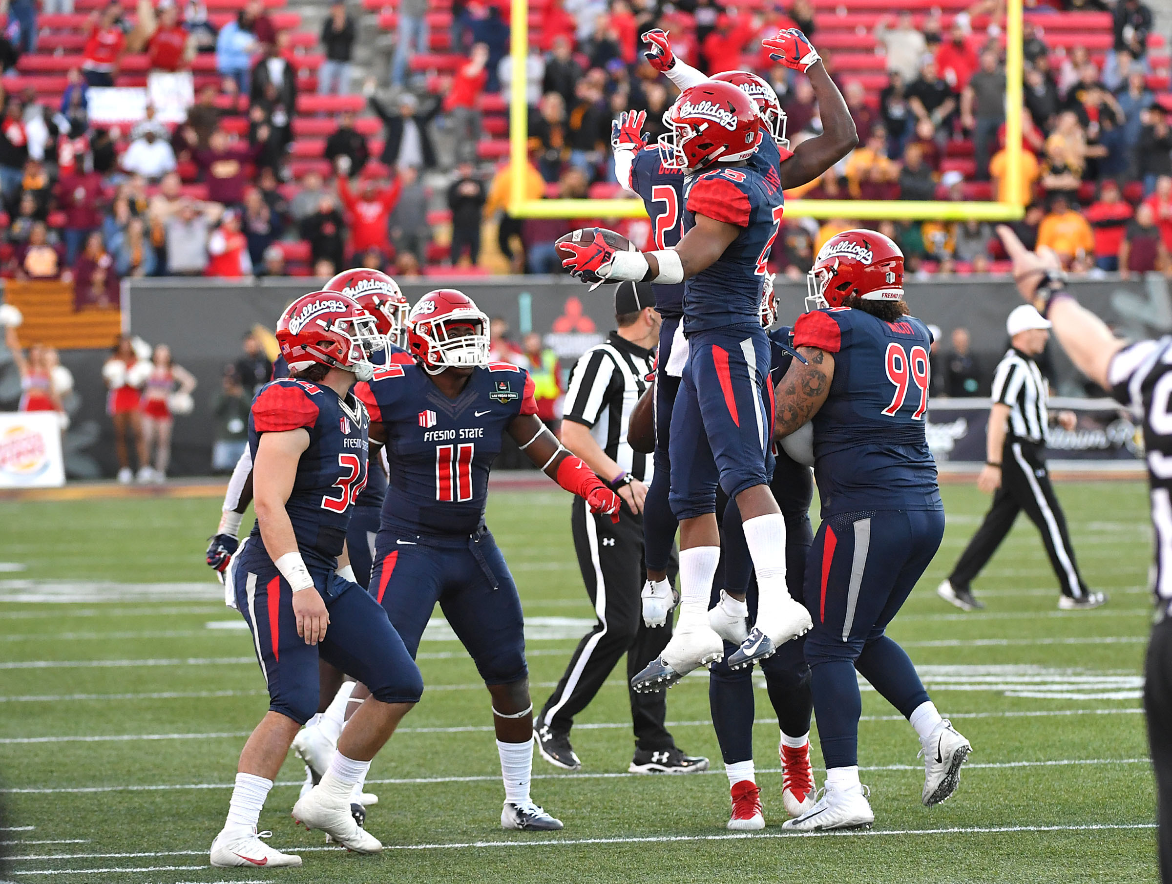 NCAA Football: Las Vegas Bowl-Arizona State vs Fresno State
