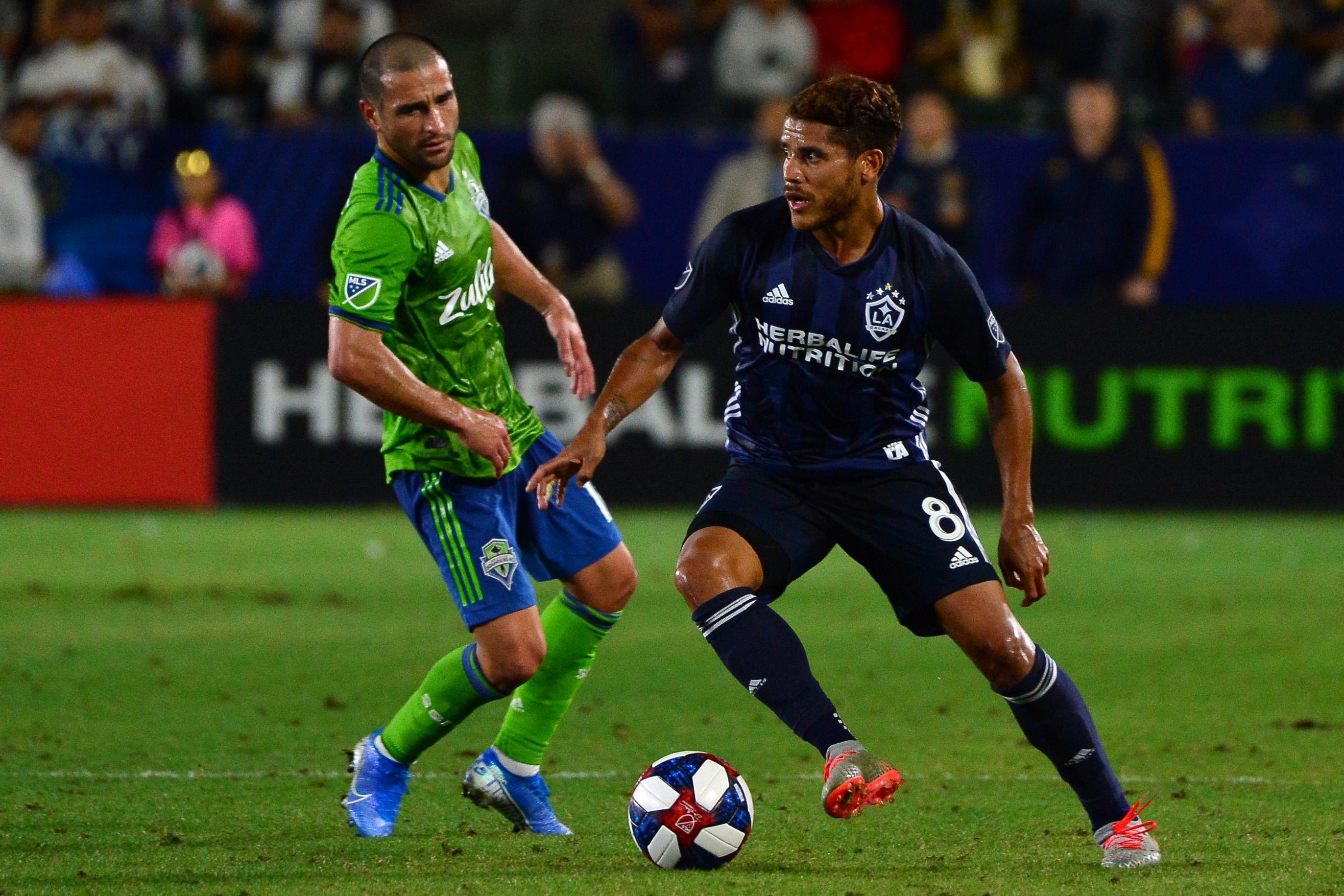 MLS:西雅图海湾FC在洛杉矶银河