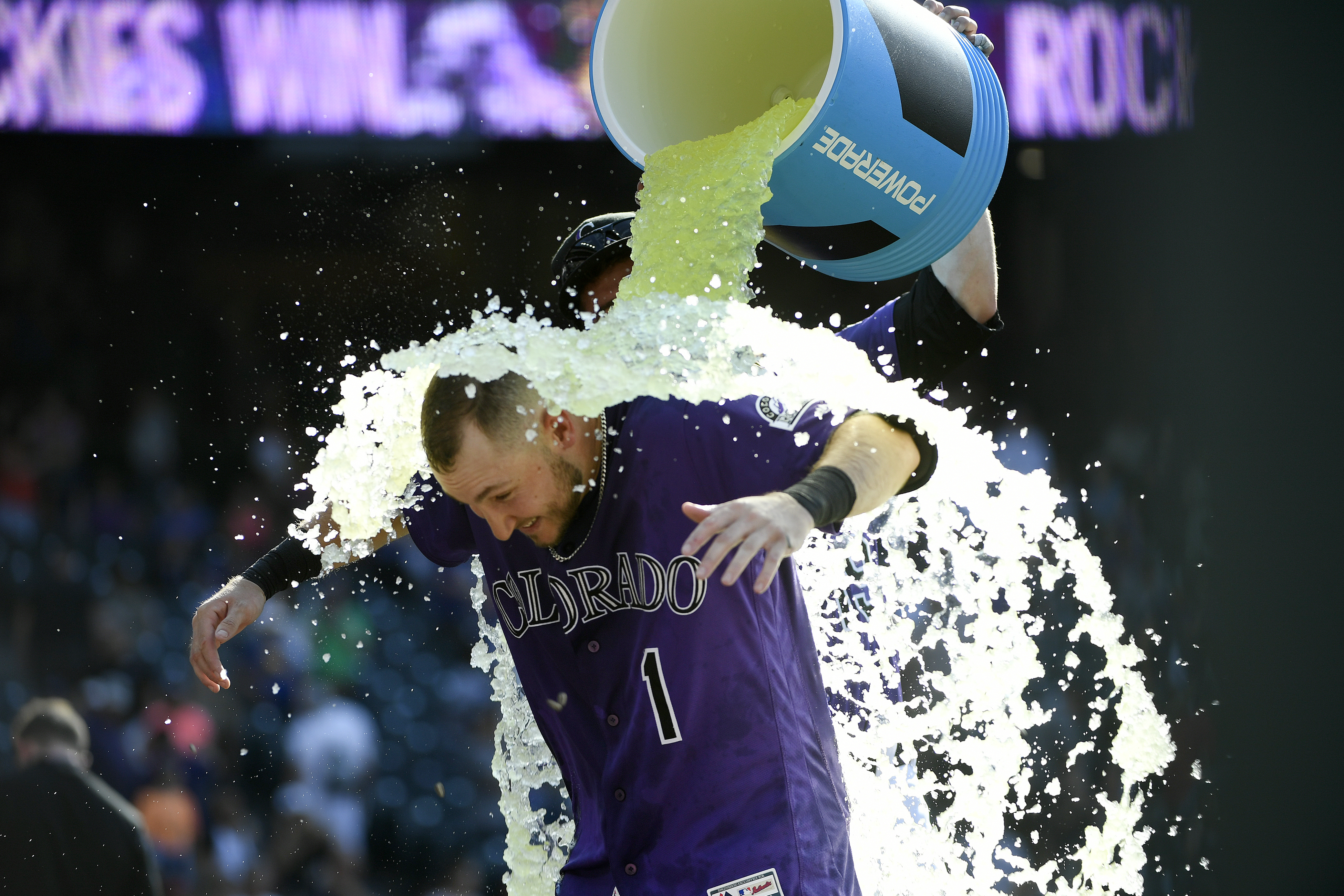 Colorado Rockies take on the Miami Marlins at Coors Field.