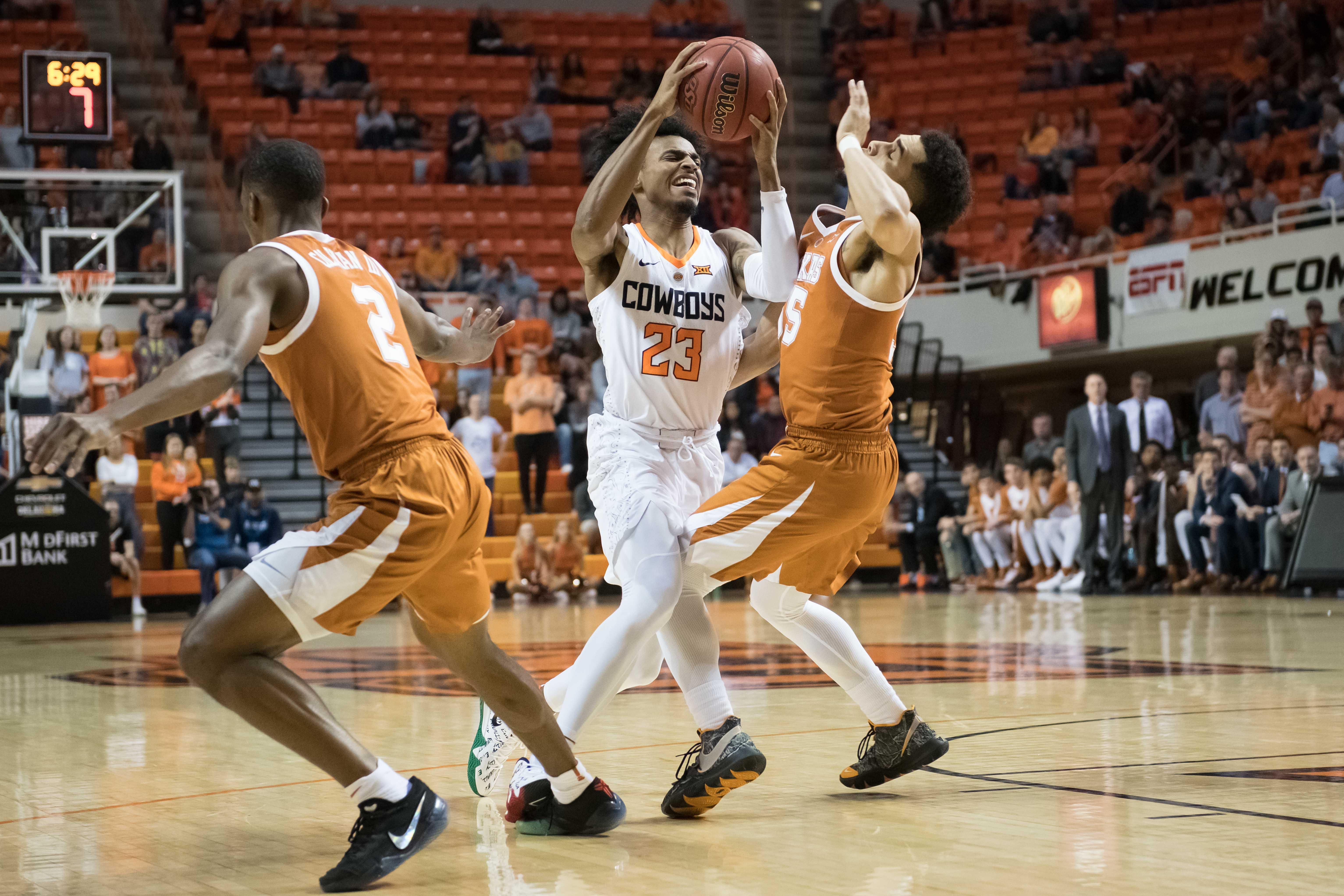 NCAA Basketball: Texas at Oklahoma State