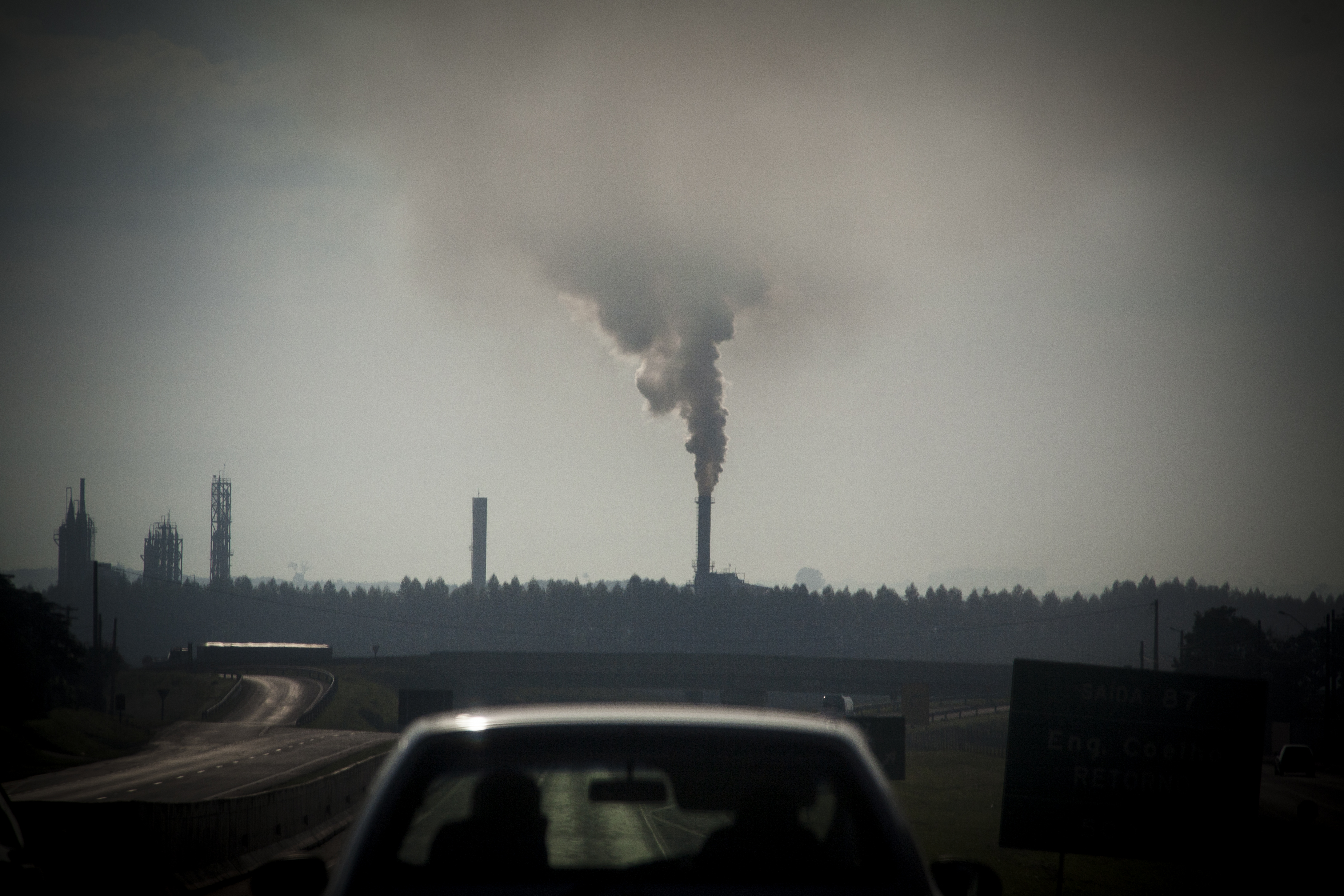 Industrial pollution in the Ribeirao Preto region, the world...