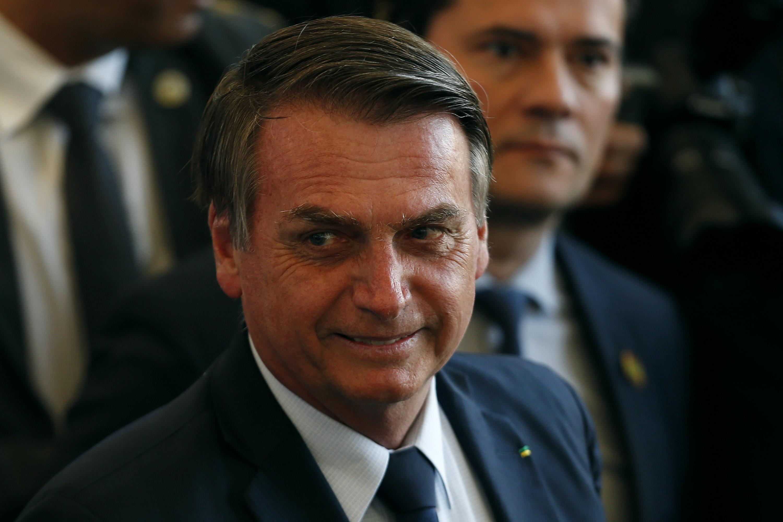 Brazilian President Jair Bolsonaro in July 2019.