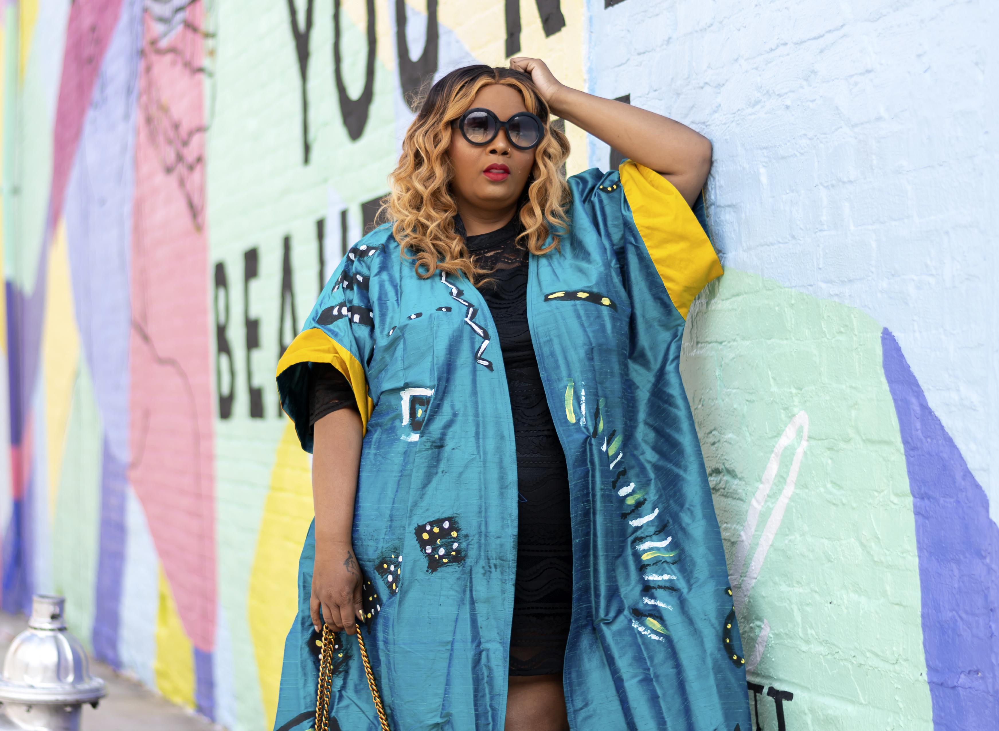 Fashion and lifestyle blogger Maui Bigelow. Bigelow, a former teacher in Albany, Georgia, created Phatgirlfresh.com, with 67,500 monthly unique visitors to her site and nearly 40,000 followers on Instagram.