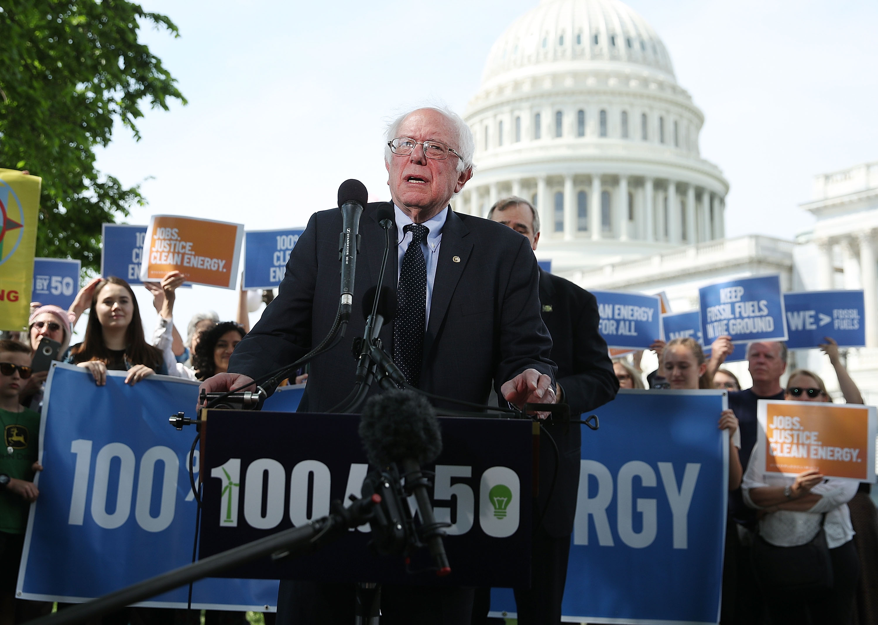 Bernie Sanders has a $16 trillion plan to avert climate disasters