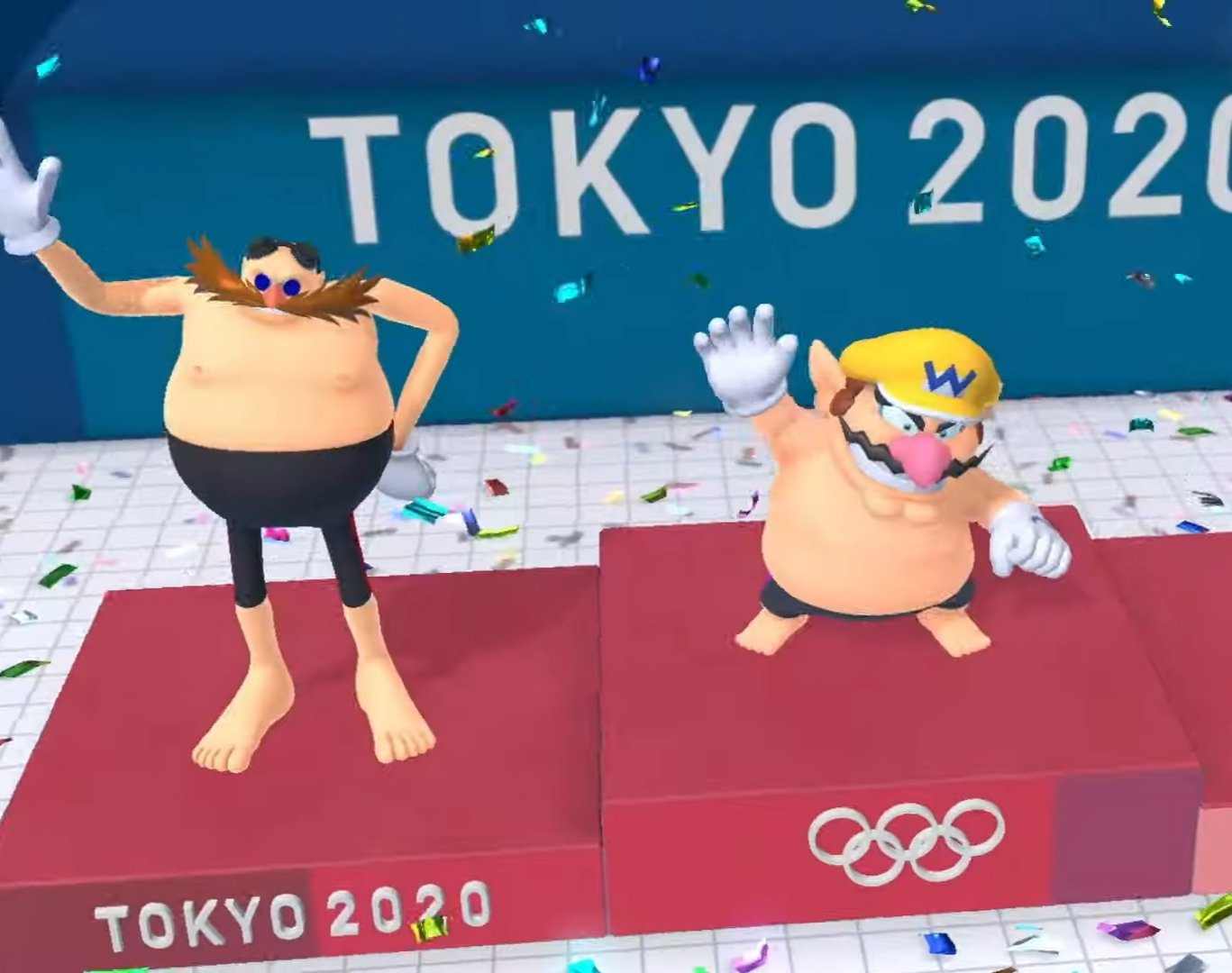 We have some questions after seeing Wario shirtless