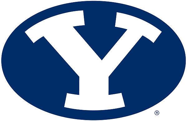BYU's Y logo.