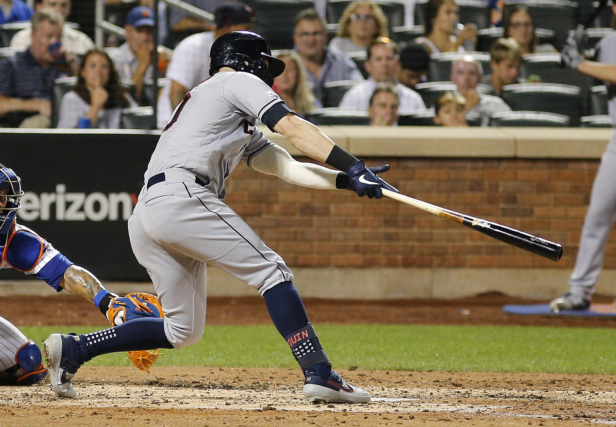 MLB: Cleveland Indians at New York Mets