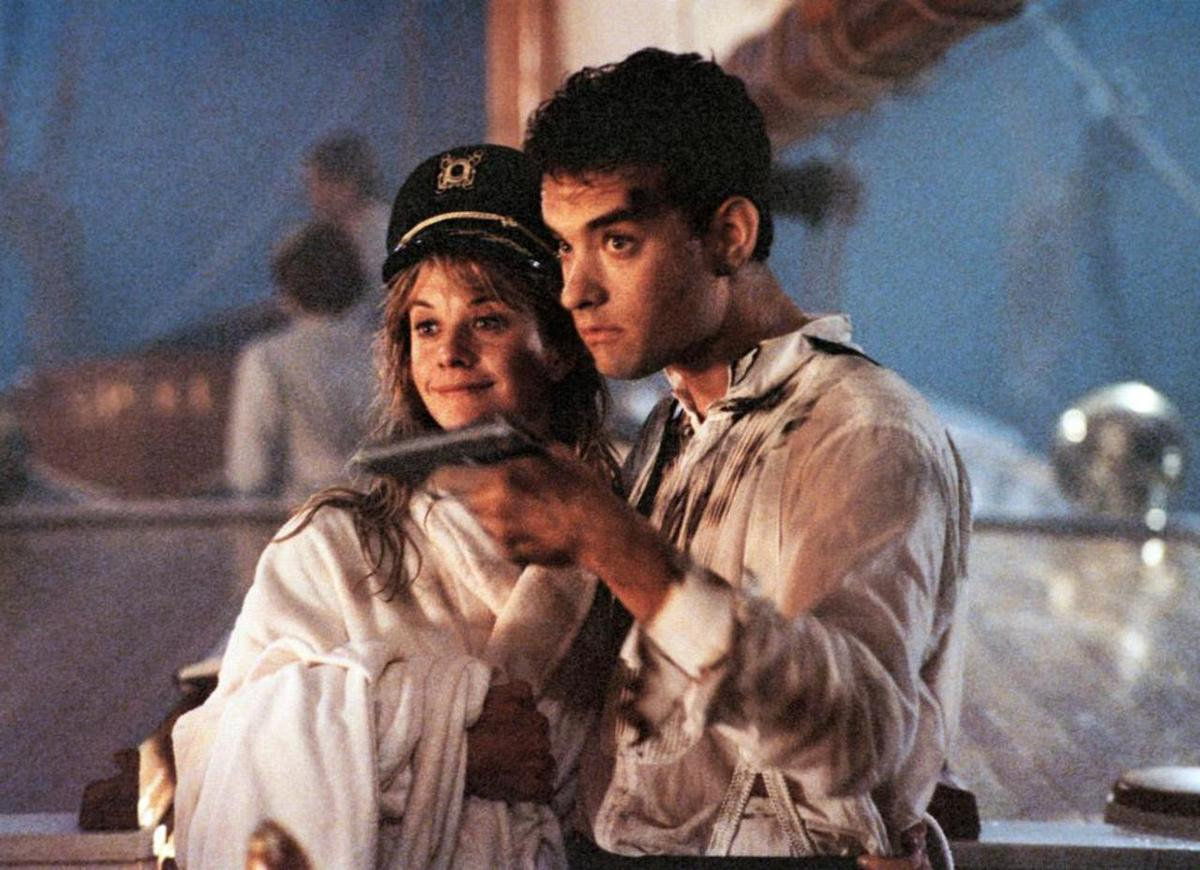"""New on Blu-ray this week is the offbeat farce """"Joe Versus the Volcano"""" (1990), the first of three films that paired Meg Ryan and Tom Hanks."""