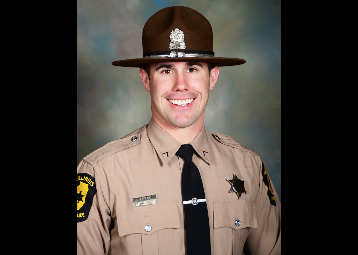 Illinois State Trooper Nicholas Hopkins