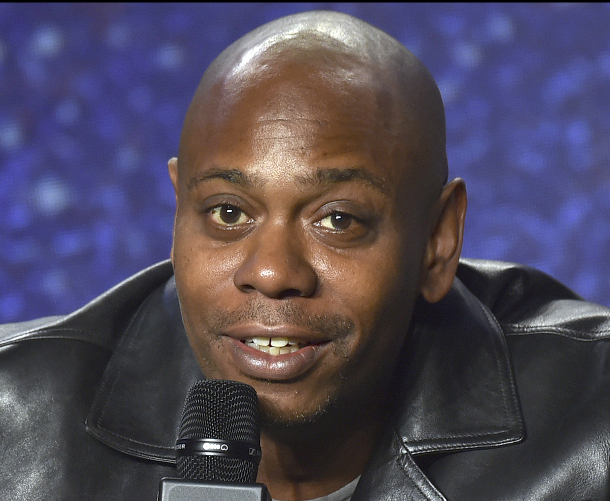 Dave Chappelle speaks at the press conference at the Toronto International Film Festival at the TIFF Bell Lightbox in July.