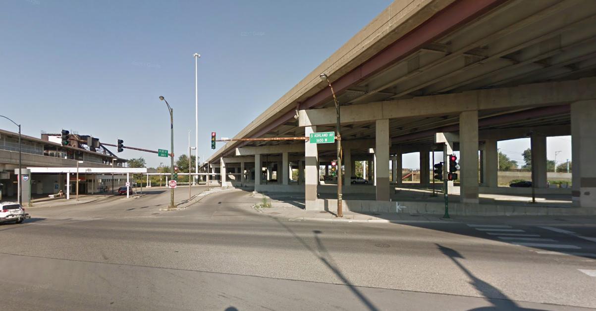 A man was found dead Aug. 23, 2019, near a Stevenson Expressway ramp at Ashland Avenue.