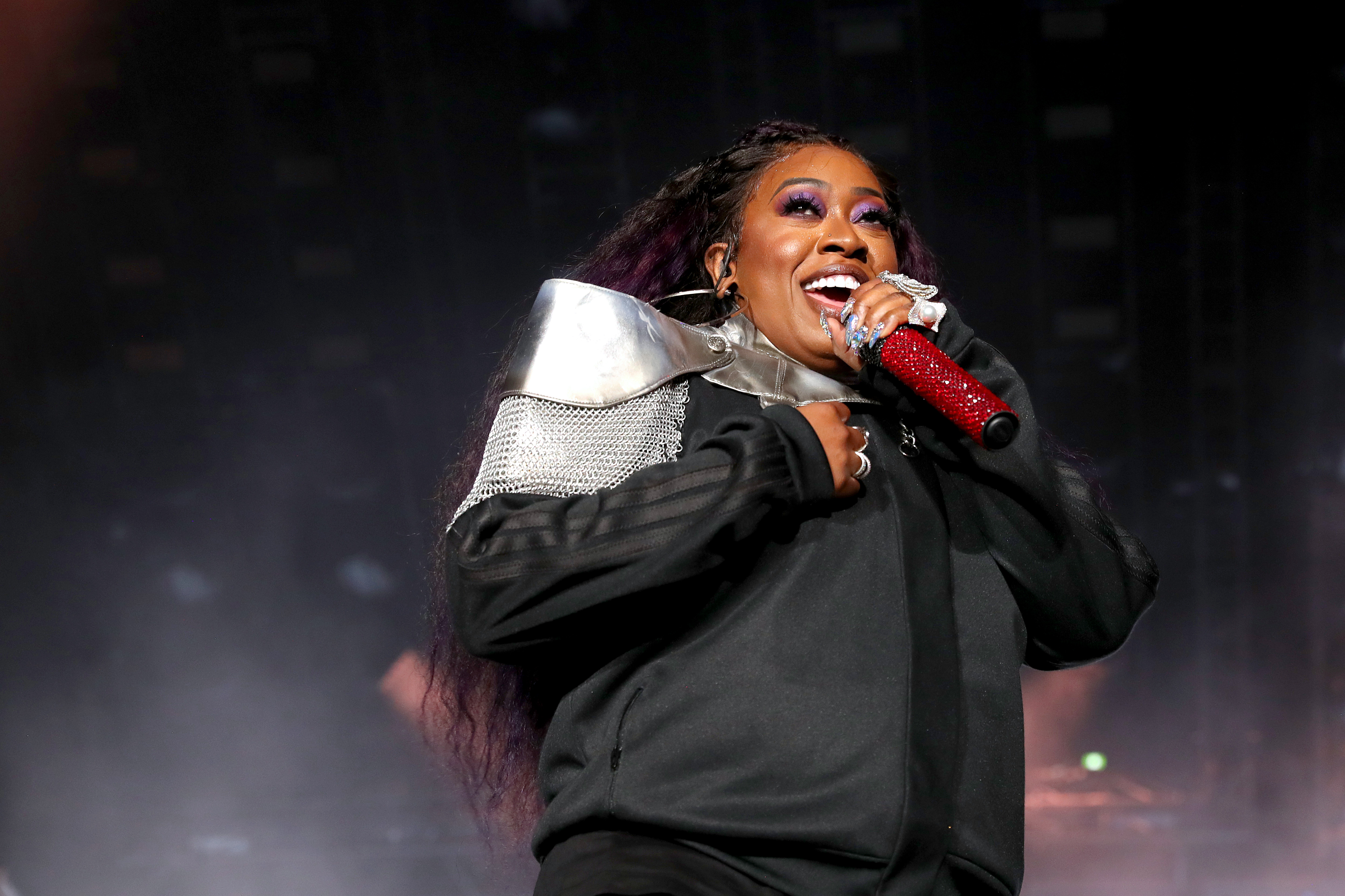 Missy Elliott performs onstage during the 2019 ESSENCE Festival Presented By Coca-Cola performs onstage during the at Louisiana Superdome